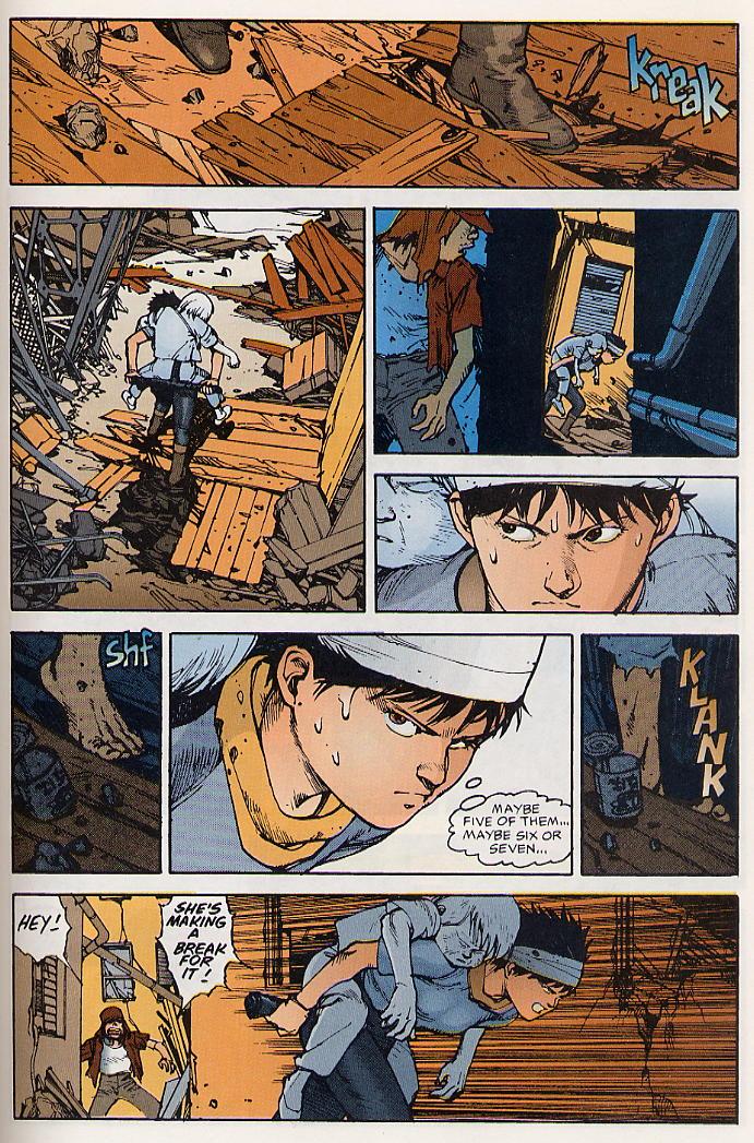 Read online Akira comic -  Issue #19 - 60