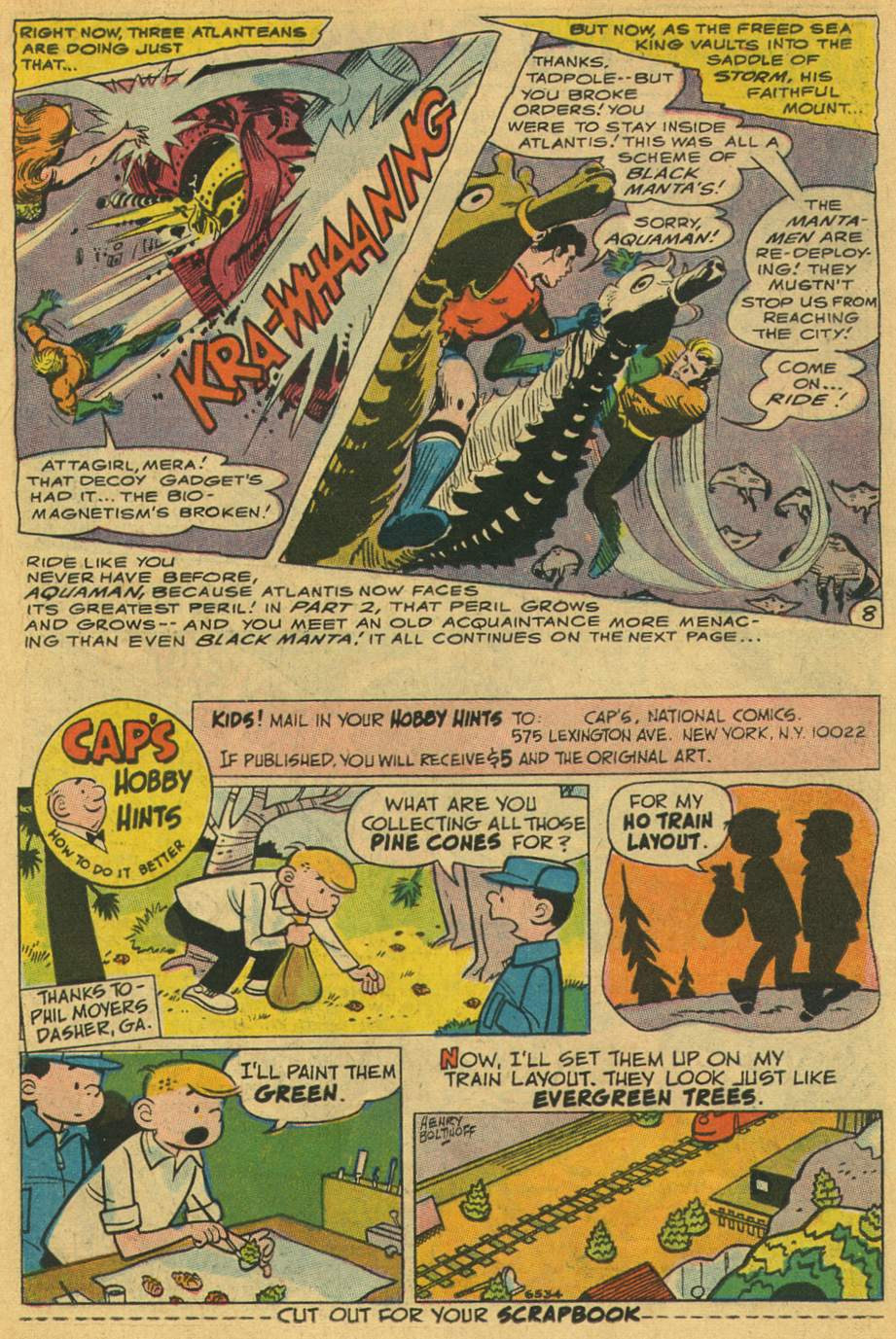 Read online Aquaman (1962) comic -  Issue #35 - 11