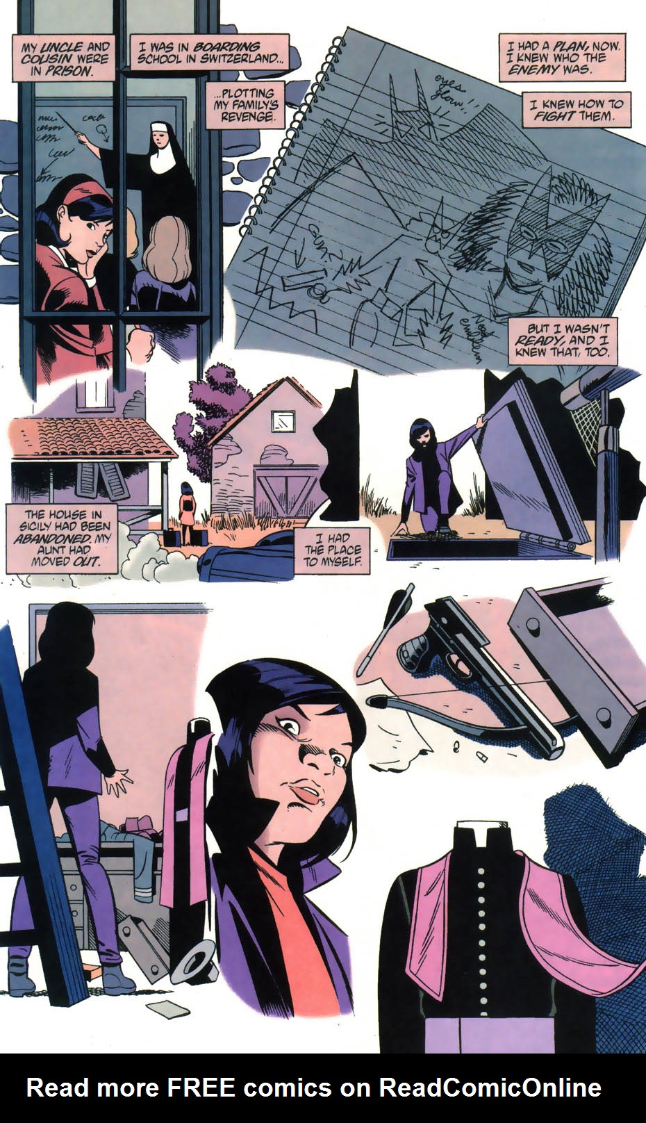 Read online Batman/Huntress: Cry for Blood comic -  Issue #5 - 11