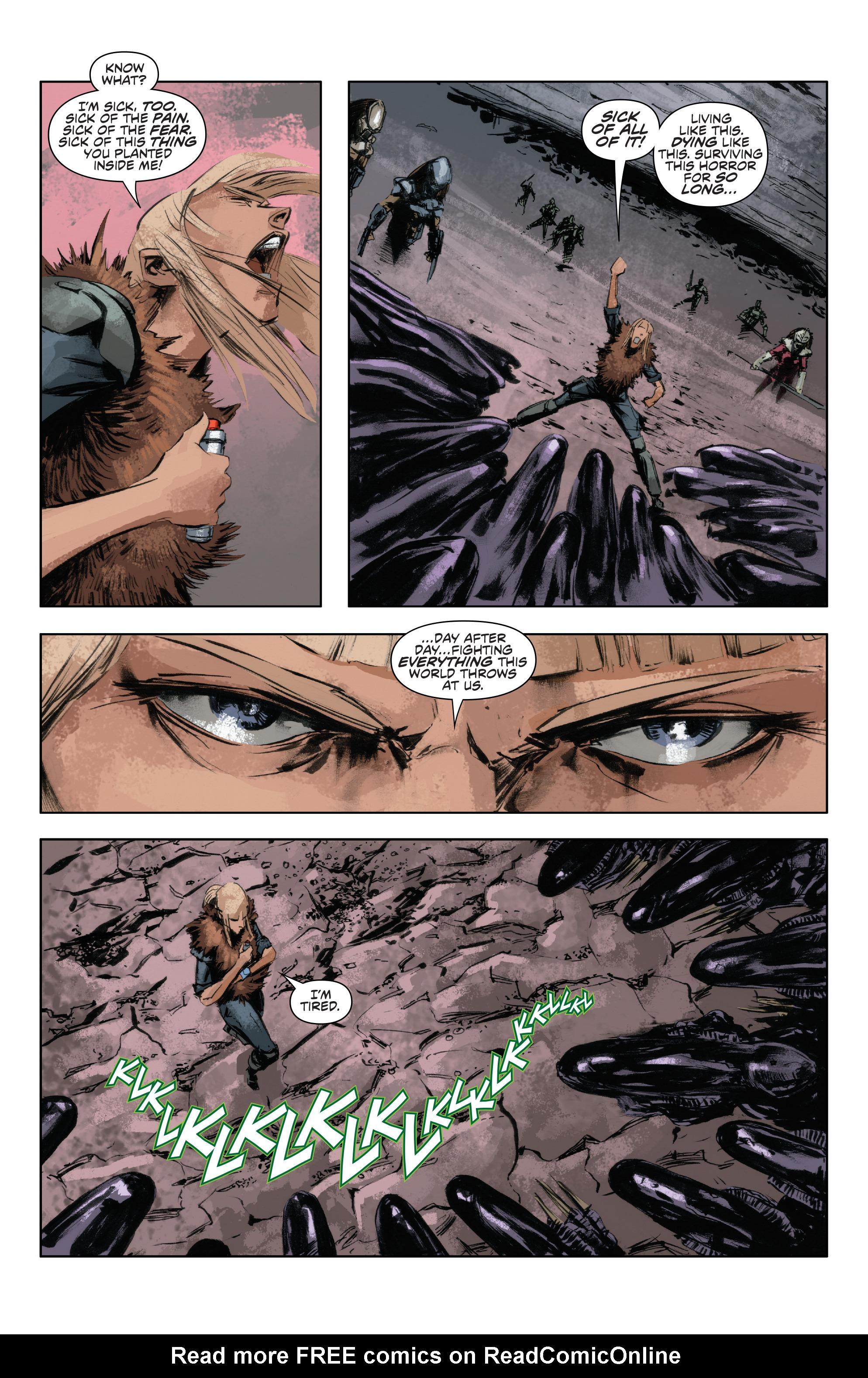 Read online Alien Vs. Predator: Life and Death comic -  Issue #4 - 8