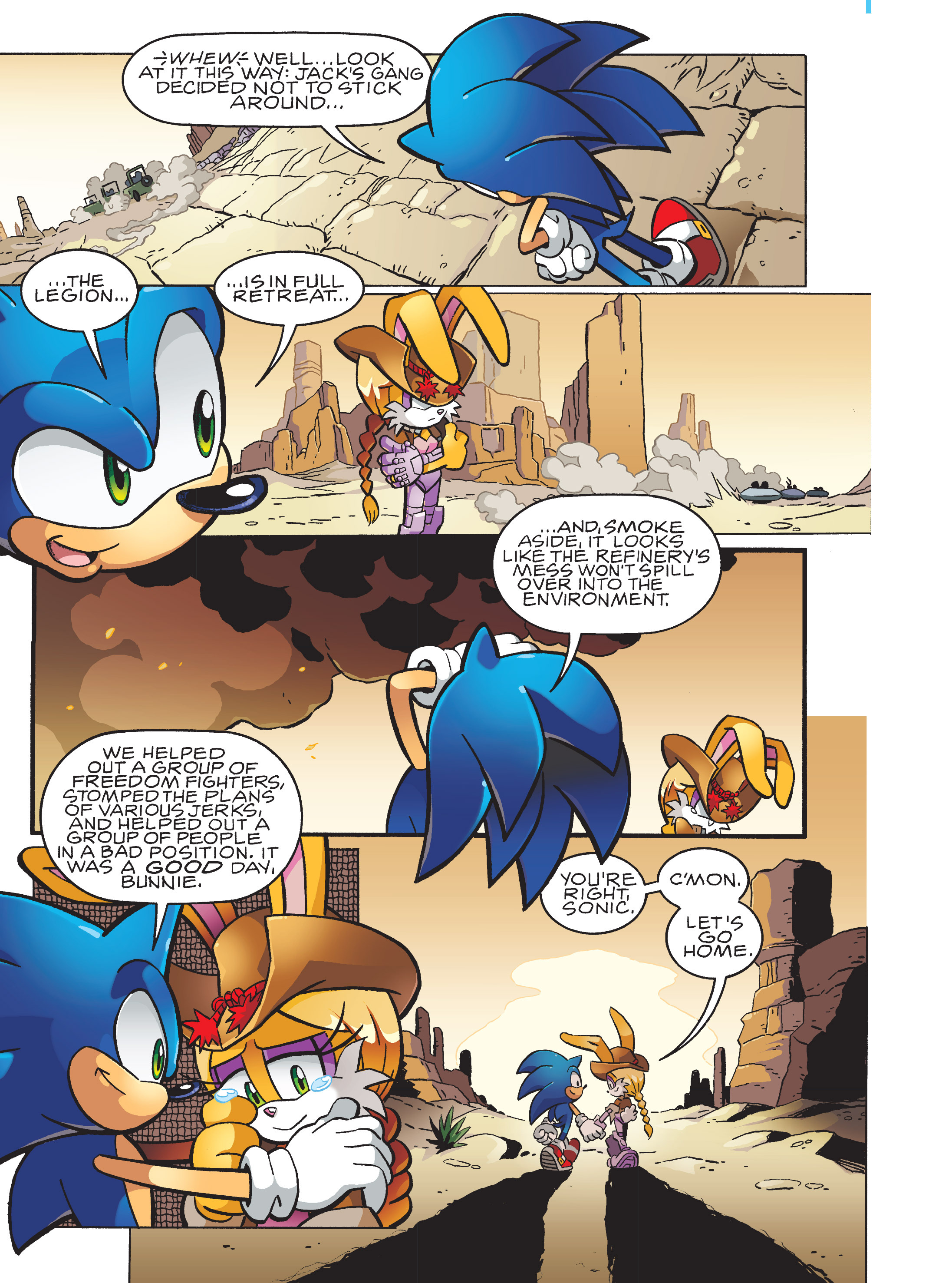 Read online Sonic Super Digest comic -  Issue #10 - 112