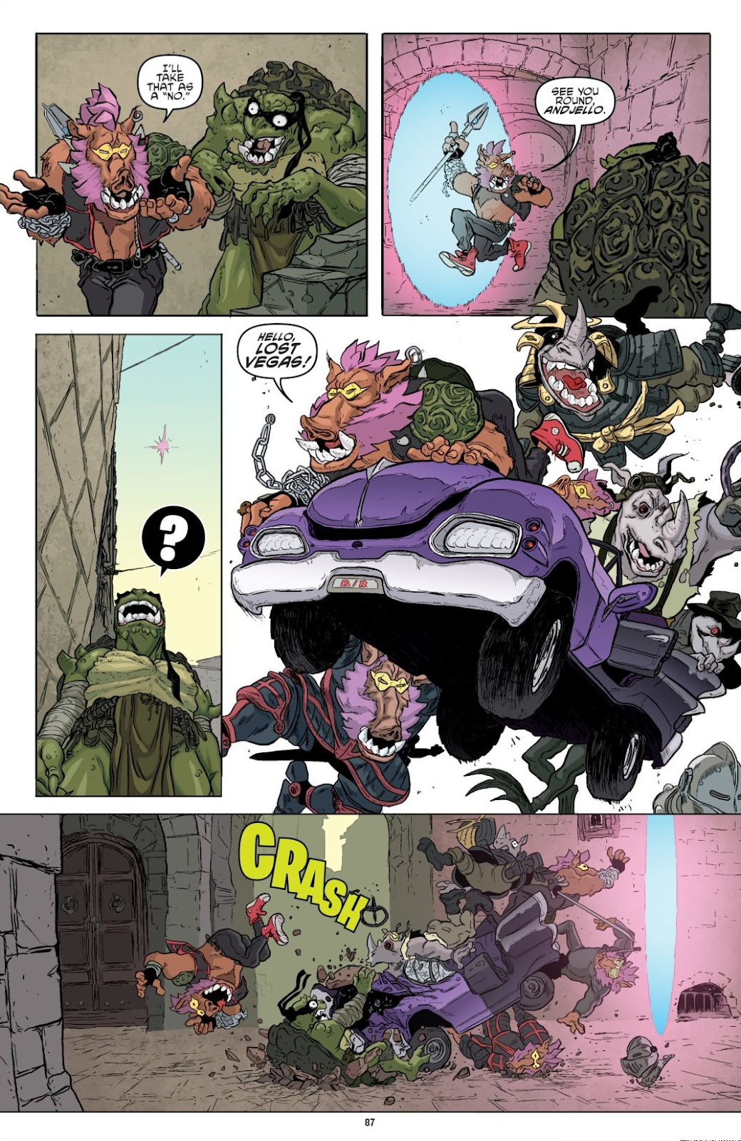 Read online Teenage Mutant Ninja Turtles: The IDW Collection comic -  Issue # TPB 8 (Part 1) - 86