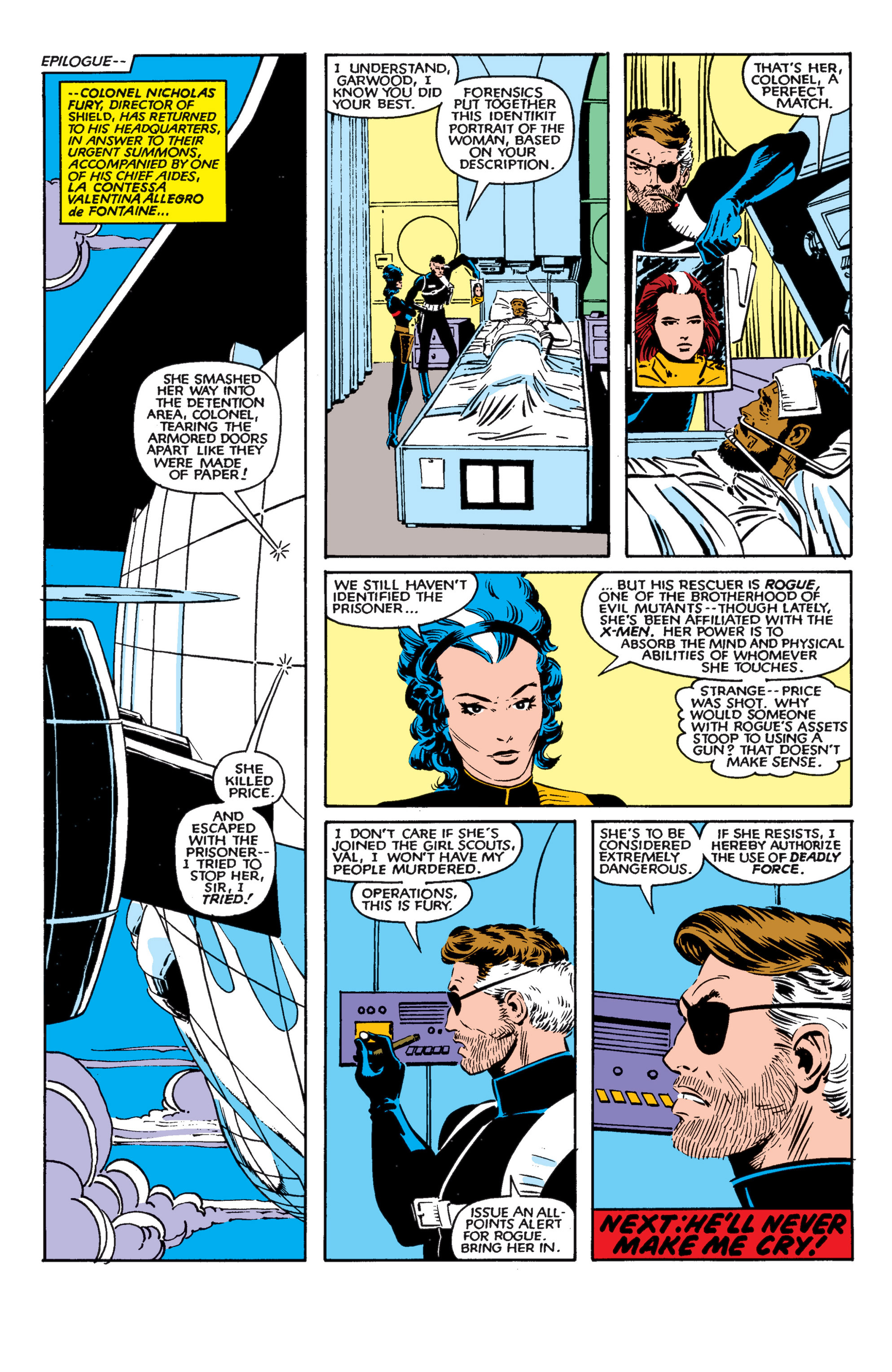 Read online Uncanny X-Men (1963) comic -  Issue #182 - 23