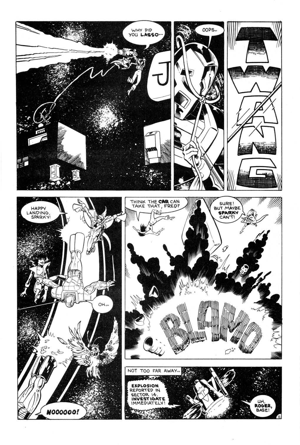Aristocratic Xtraterrestrial Time-Traveling Thieves issue 7 - Page 13