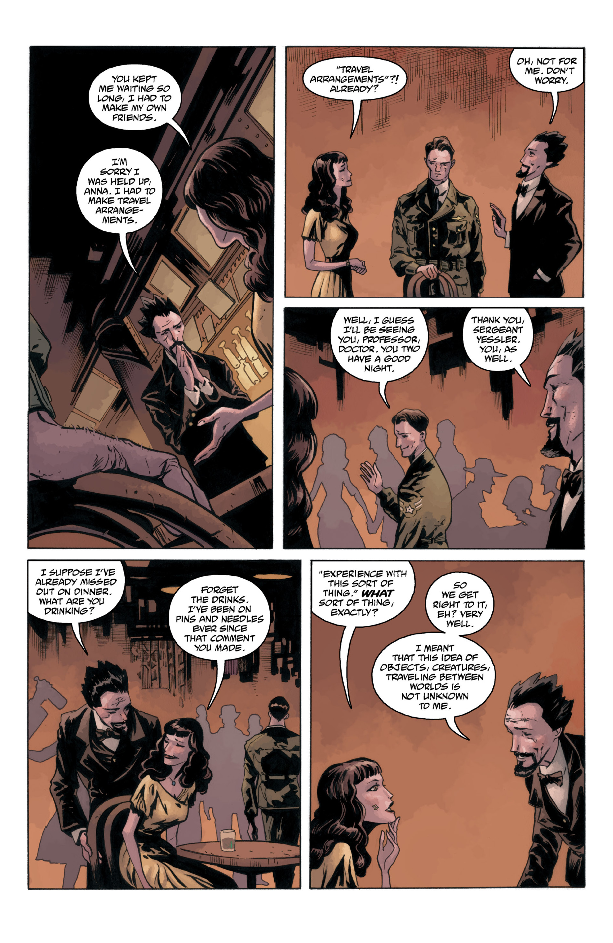 Read online B.P.R.D.: 1948 comic -  Issue # TPB - 69
