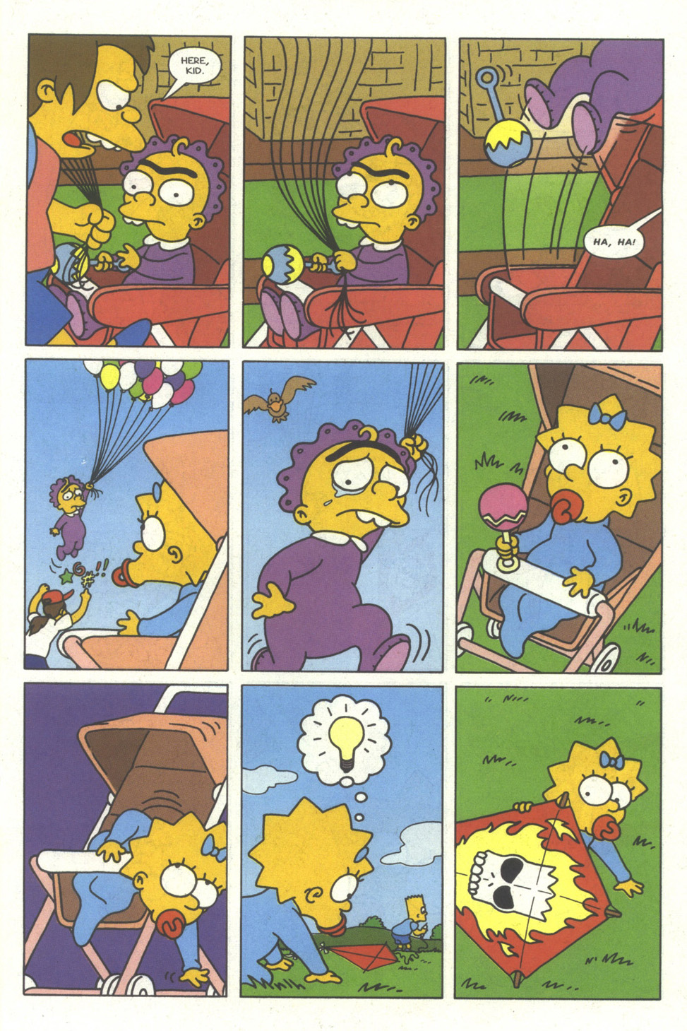 Read online Simpsons Comics comic -  Issue #29 - 27