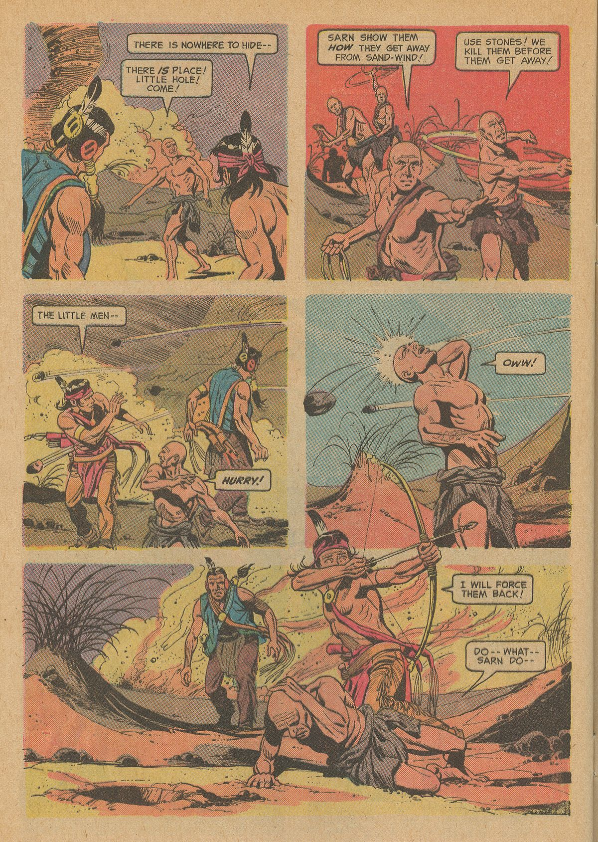 Read online Turok, Son of Stone comic -  Issue #83 - 28