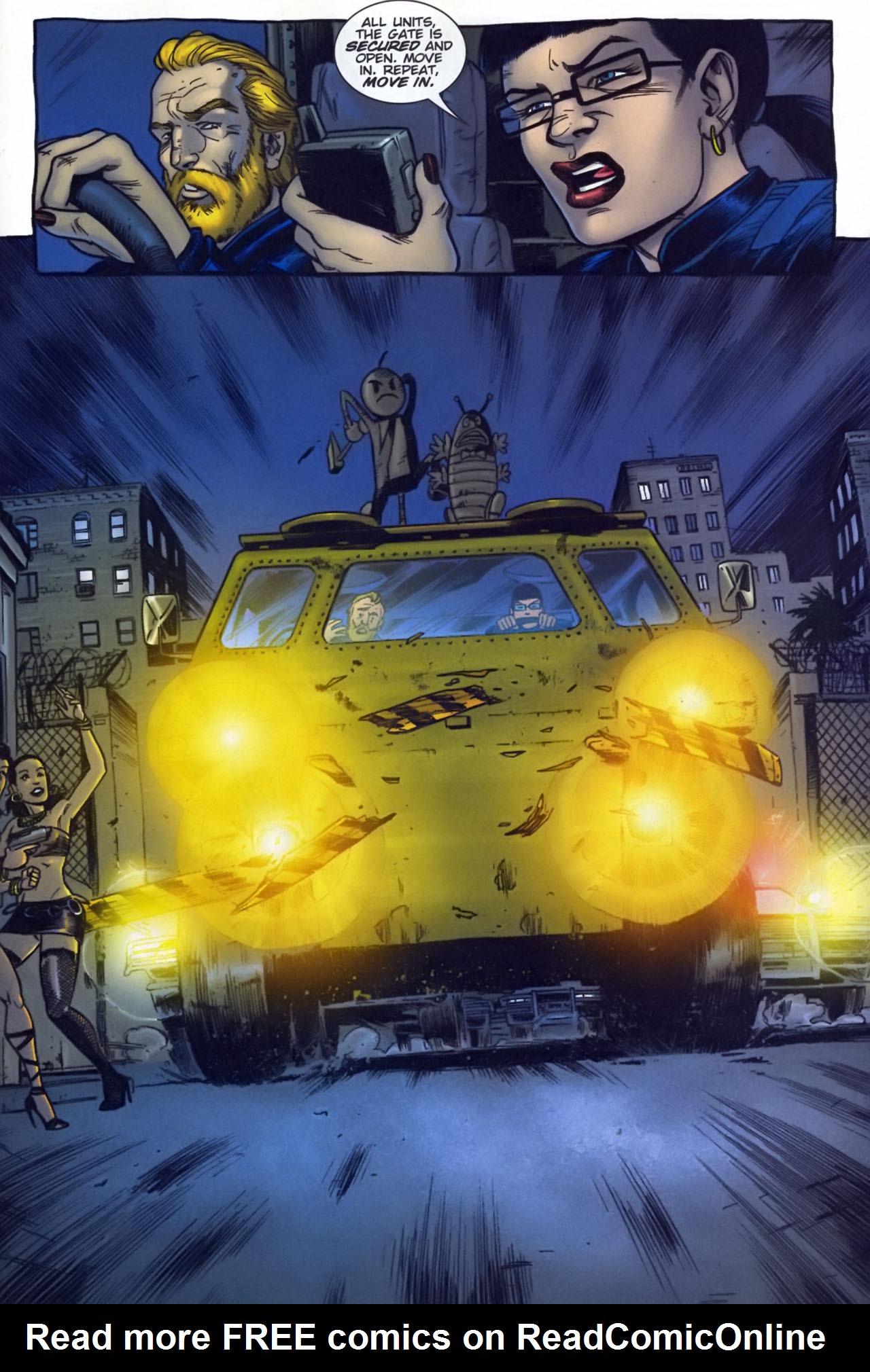 Read online The Exterminators comic -  Issue #29 - 17