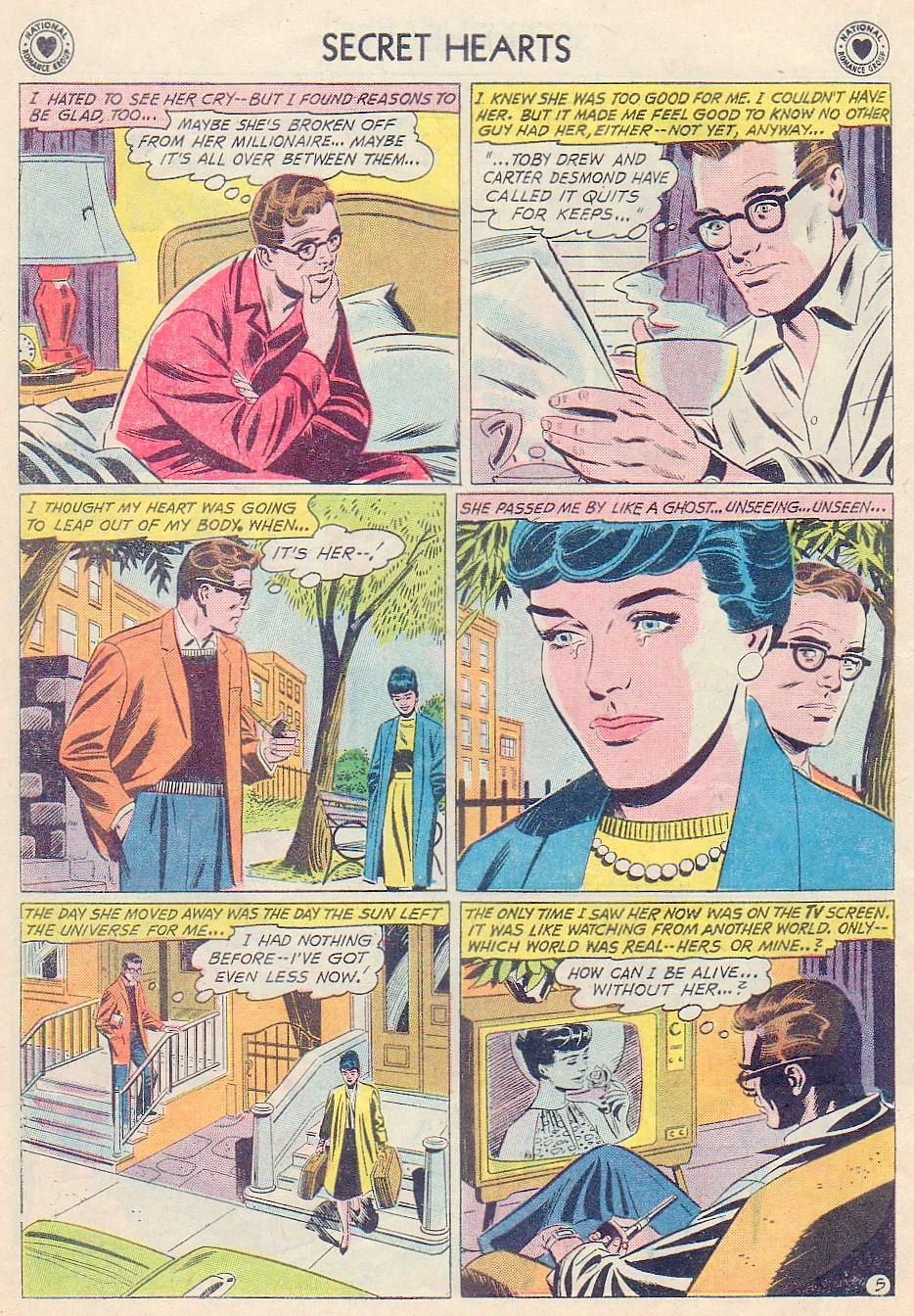 Read online Secret Hearts comic -  Issue #72 - 22