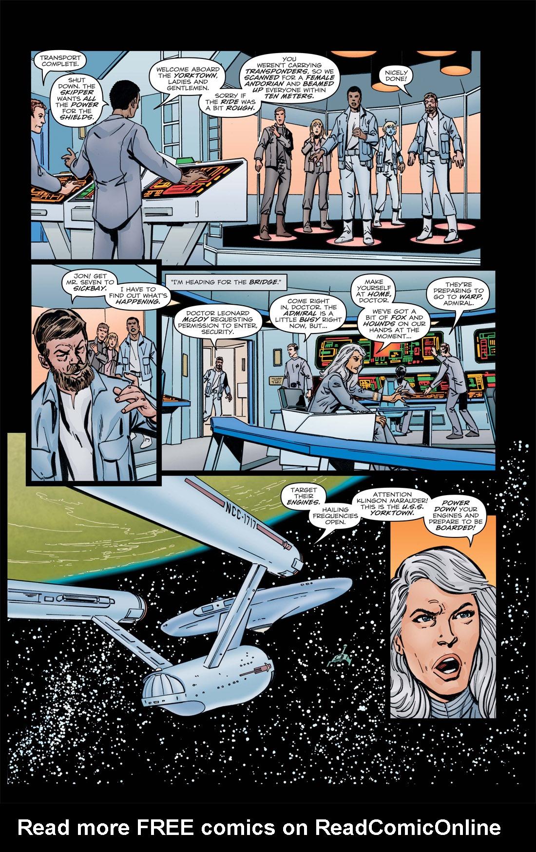 Read online Star Trek: Leonard McCoy, Frontier Doctor comic -  Issue #3 - 22