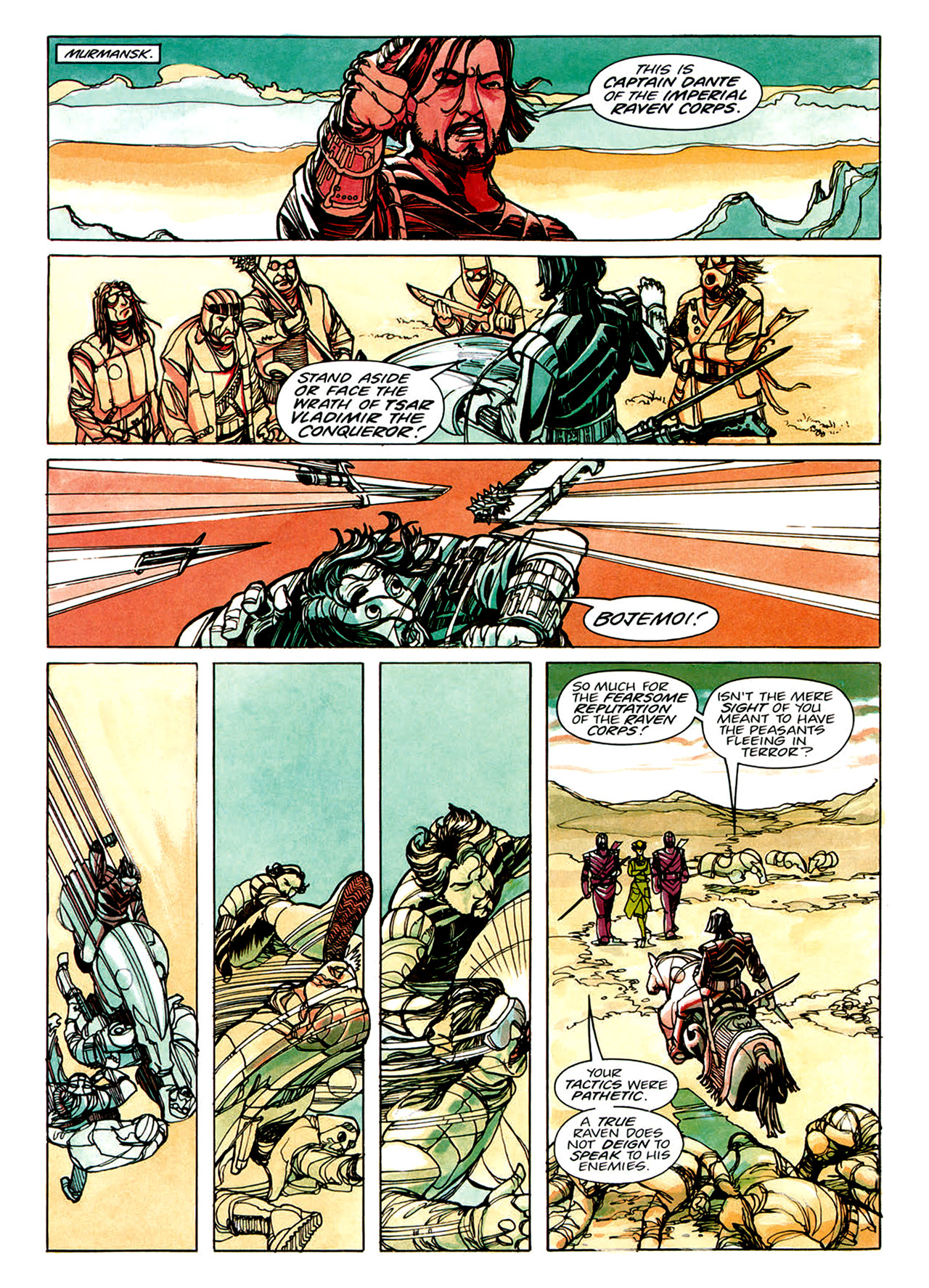 Read online Nikolai Dante comic -  Issue # TPB 1 - 19
