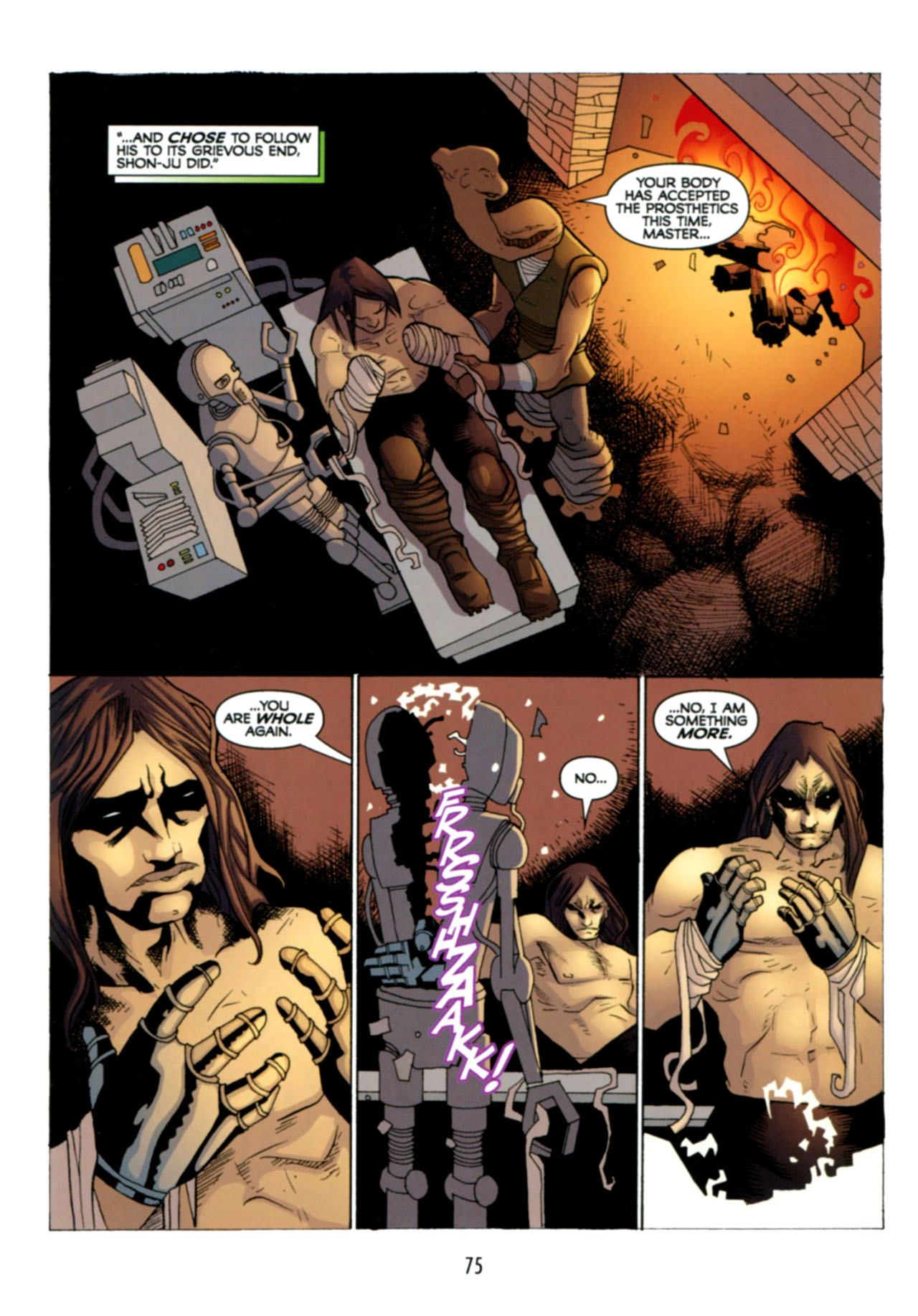 Read online Star Wars: The Clone Wars - Deadly Hands of Shon-Ju comic -  Issue # Full - 76