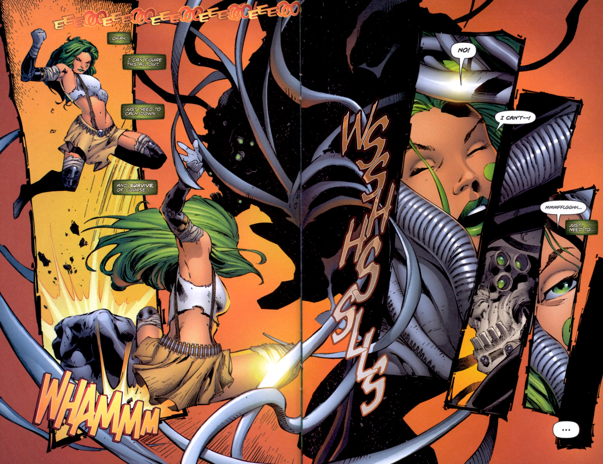 Read online Aphrodite IX (2000) comic -  Issue #4 - 14
