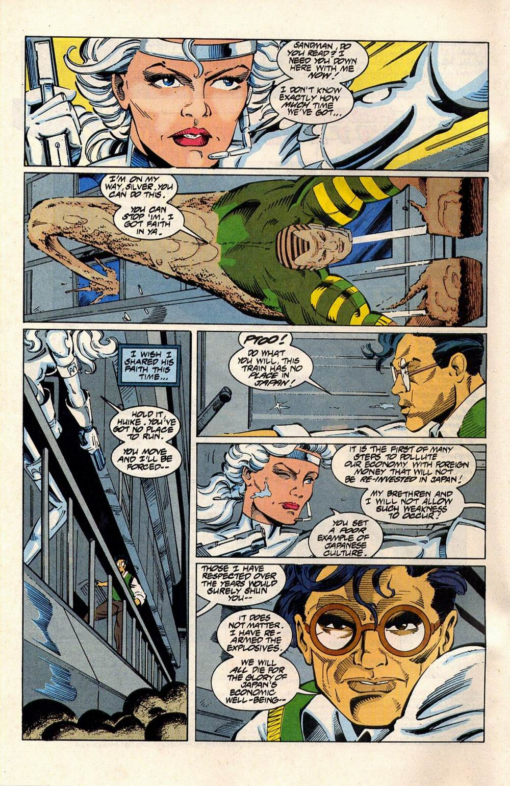 Read online Silver Sable and the Wild Pack comic -  Issue #33 - 3