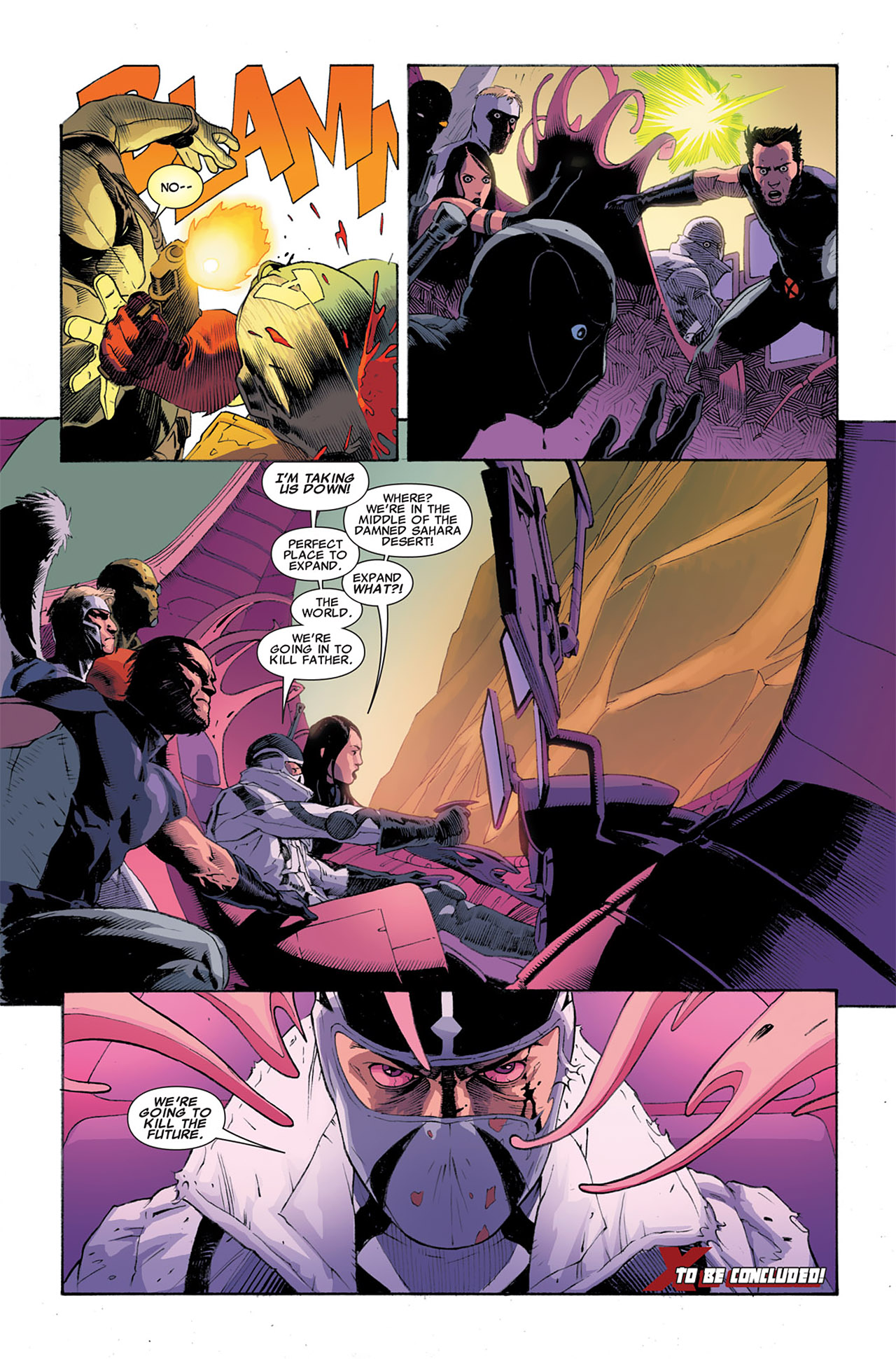 Read online Uncanny X-Force (2010) comic -  Issue #6 - 24