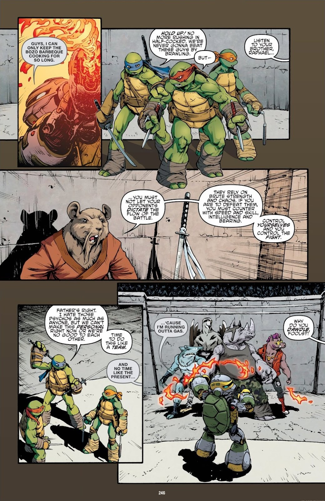 Read online Teenage Mutant Ninja Turtles: The IDW Collection comic -  Issue # TPB 6 (Part 3) - 40