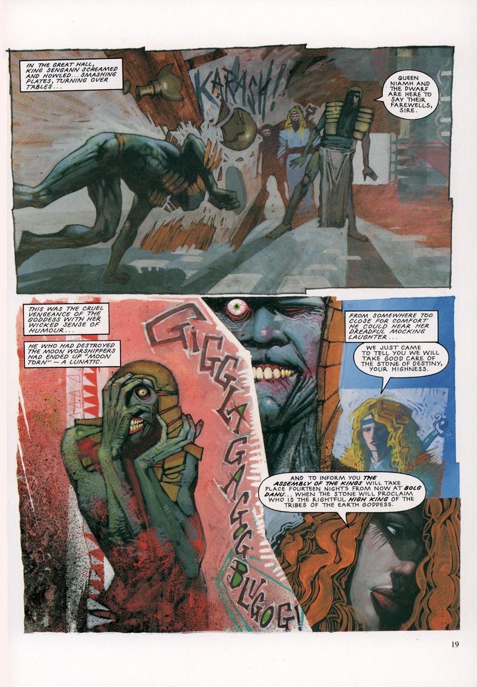 Read online Slaine: The Horned God (1993) comic -  Issue #4 - 20