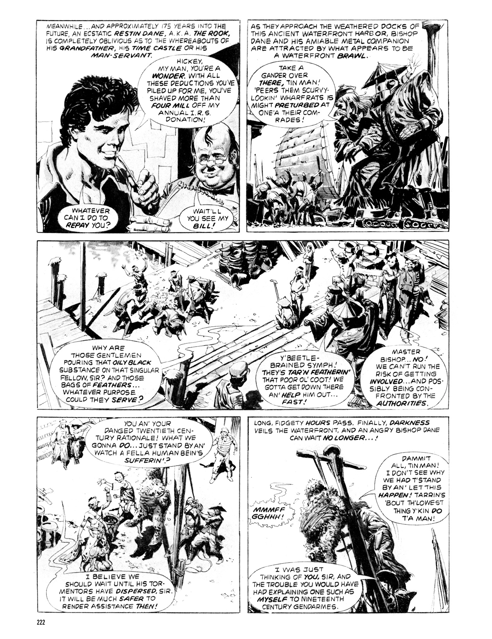 Read online Eerie Archives comic -  Issue # TPB 20 - 222