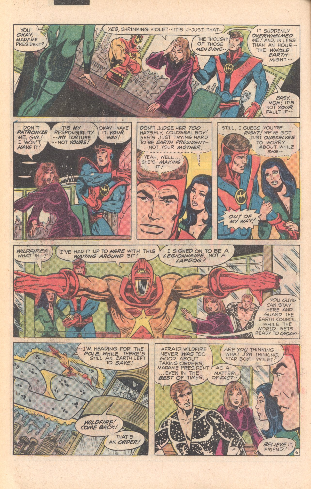 Legion of Super-Heroes (1980) 279 Page 6