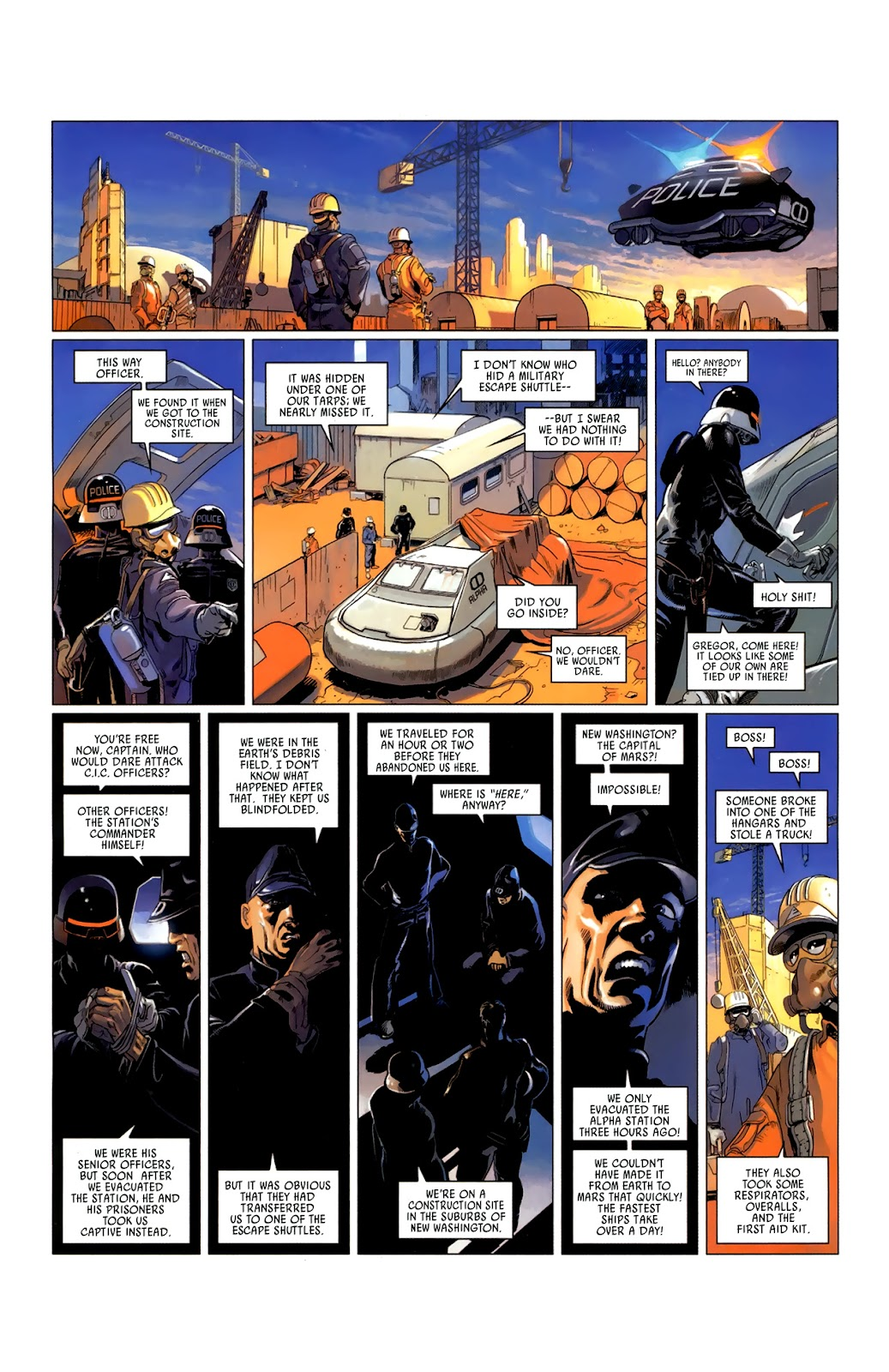 Read online Universal War One: Revelations comic -  Issue #3 - 9