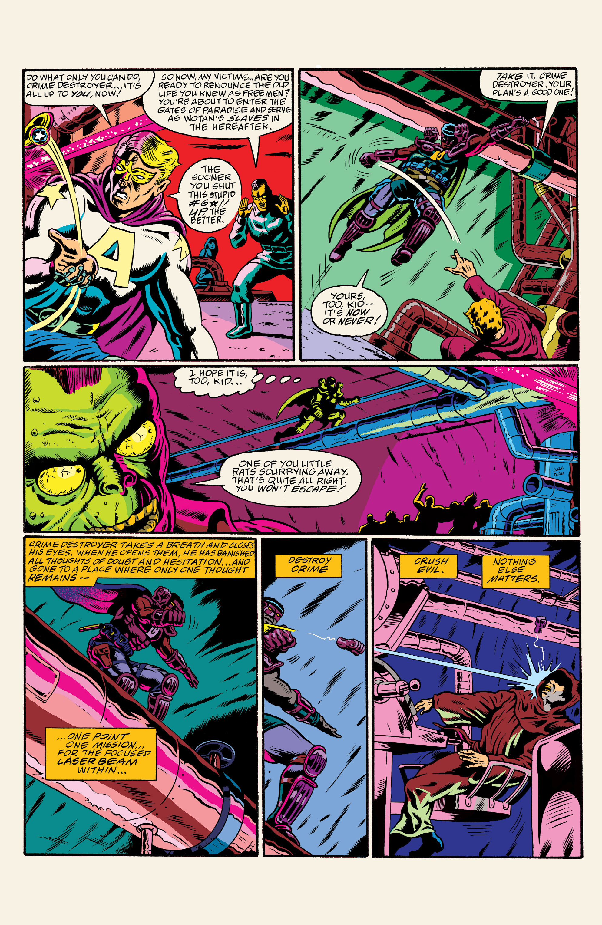 Read online All Time Comics: Crime Destroyer comic -  Issue #1 - 25