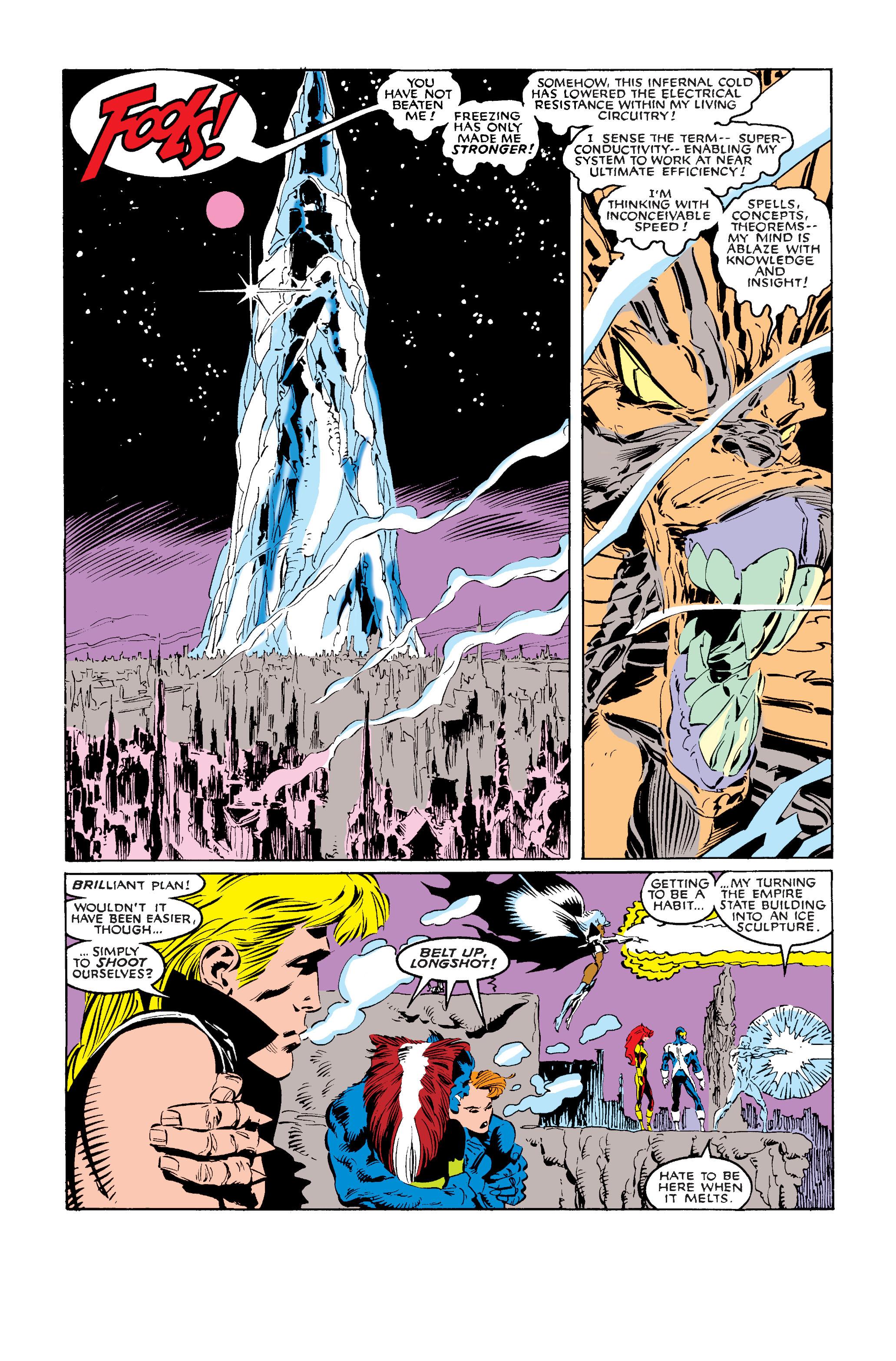 Read online Uncanny X-Men (1963) comic -  Issue #242 - 33