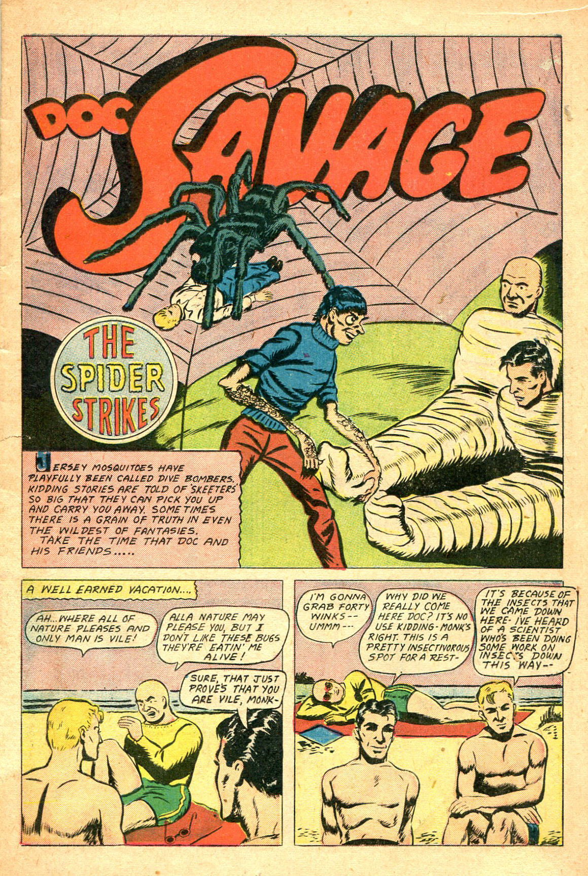 Read online Shadow Comics comic -  Issue #47 - 18