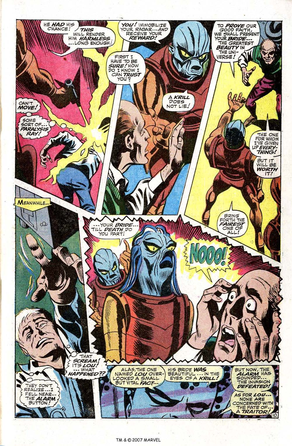 Read online Silver Surfer (1968) comic -  Issue #2 - 65