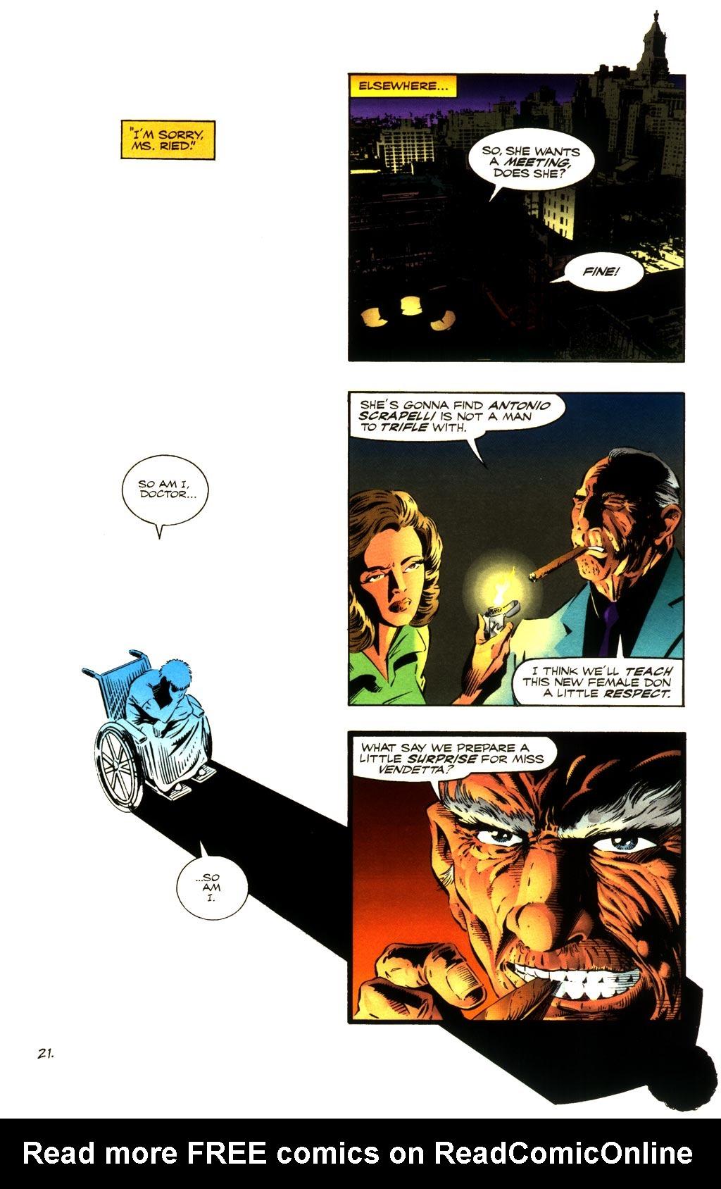 Read online ShadowHawk comic -  Issue #8 - 20
