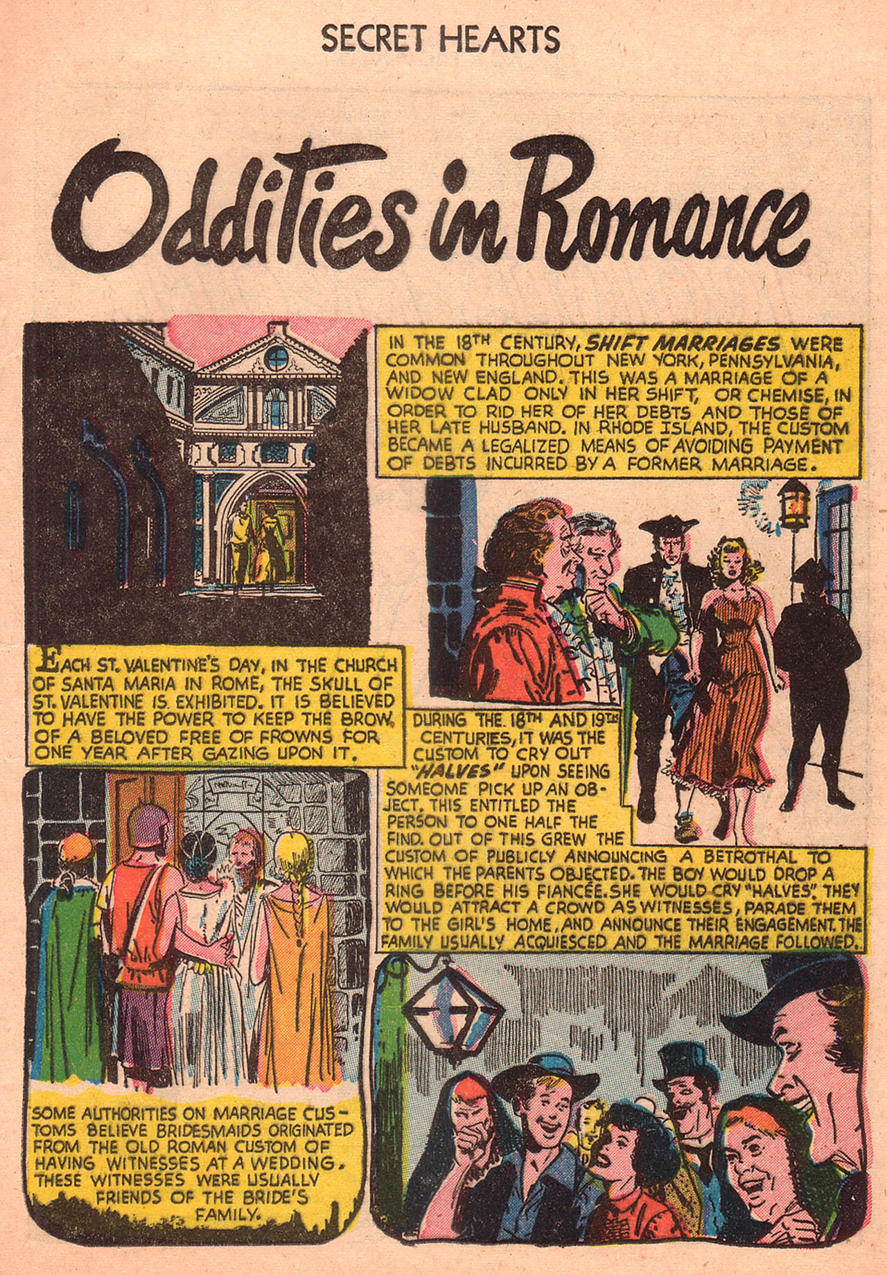 Read online Secret Hearts comic -  Issue #23 - 25