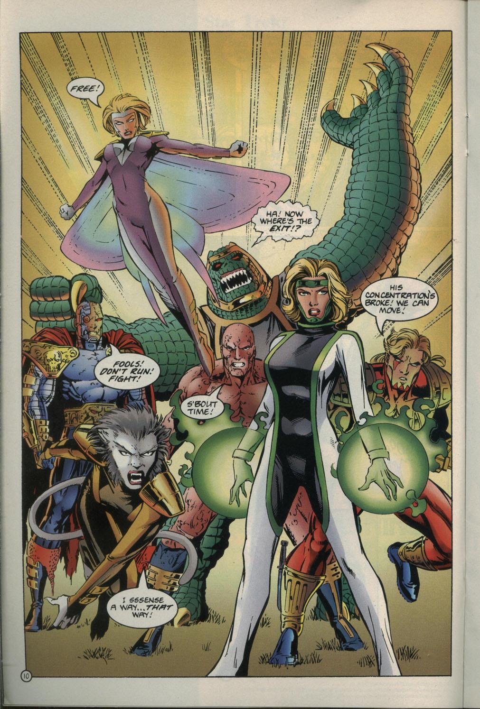 Read online Godwheel comic -  Issue #1 - 13
