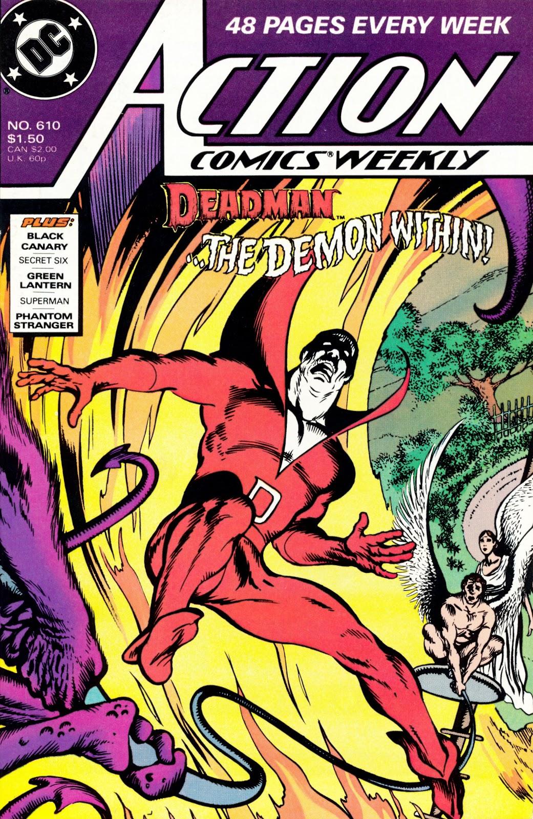 Action Comics (1938) 610 Page 1