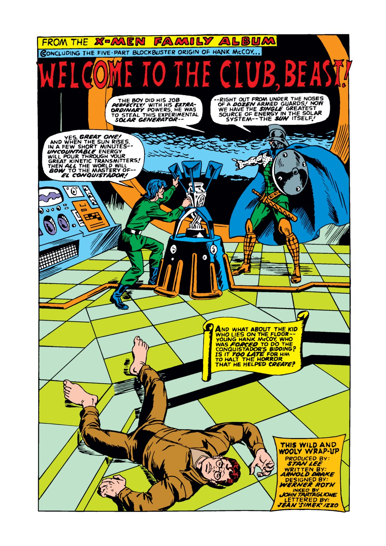 Read online Amazing Adventures (1970) comic -  Issue #17 - 24