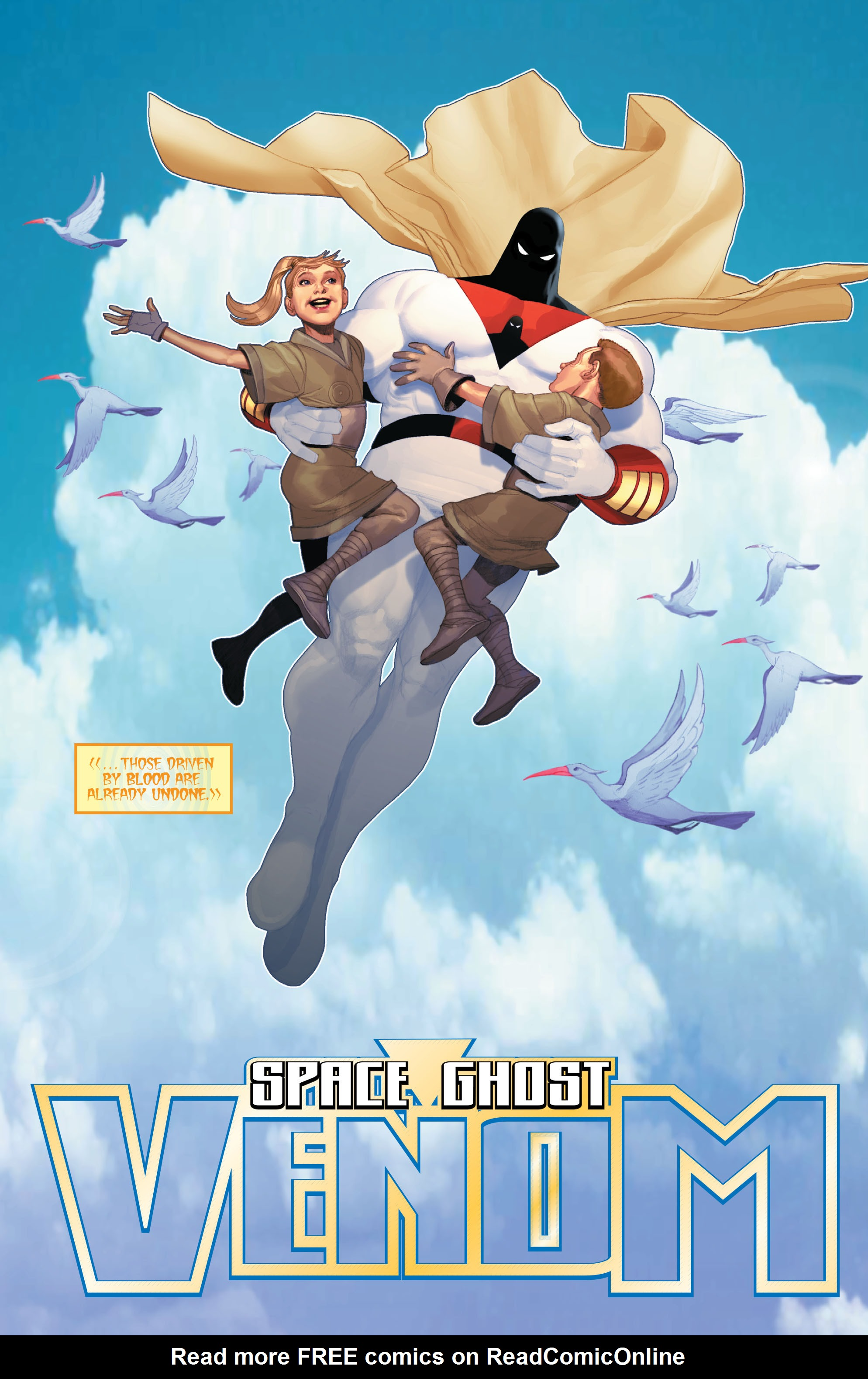 Read online Space Ghost (2016) comic -  Issue # Full - 93