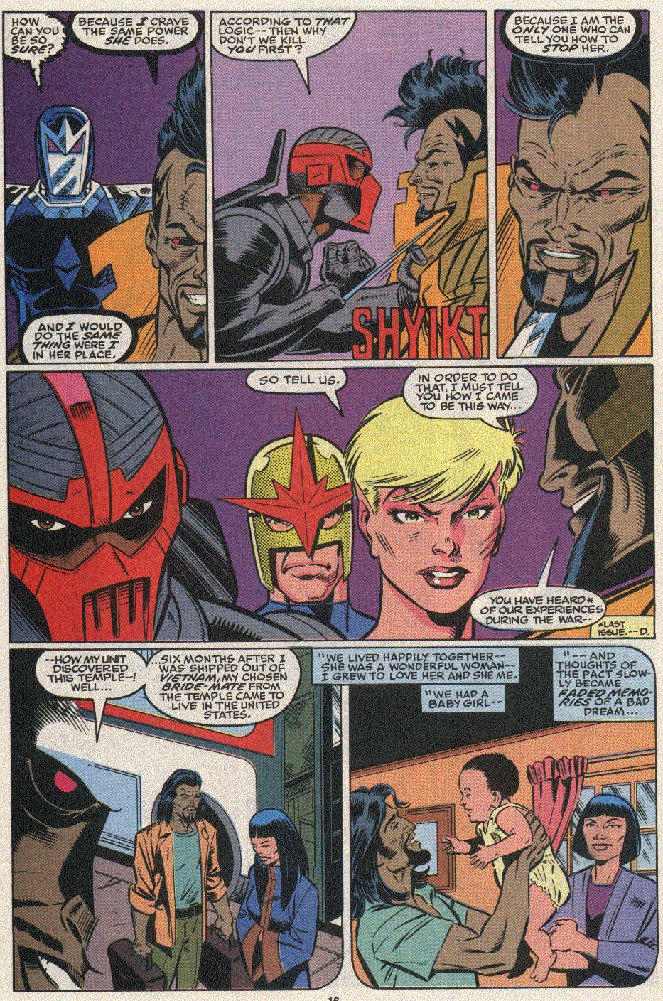 The New Warriors Issue #25 #29 - English 13