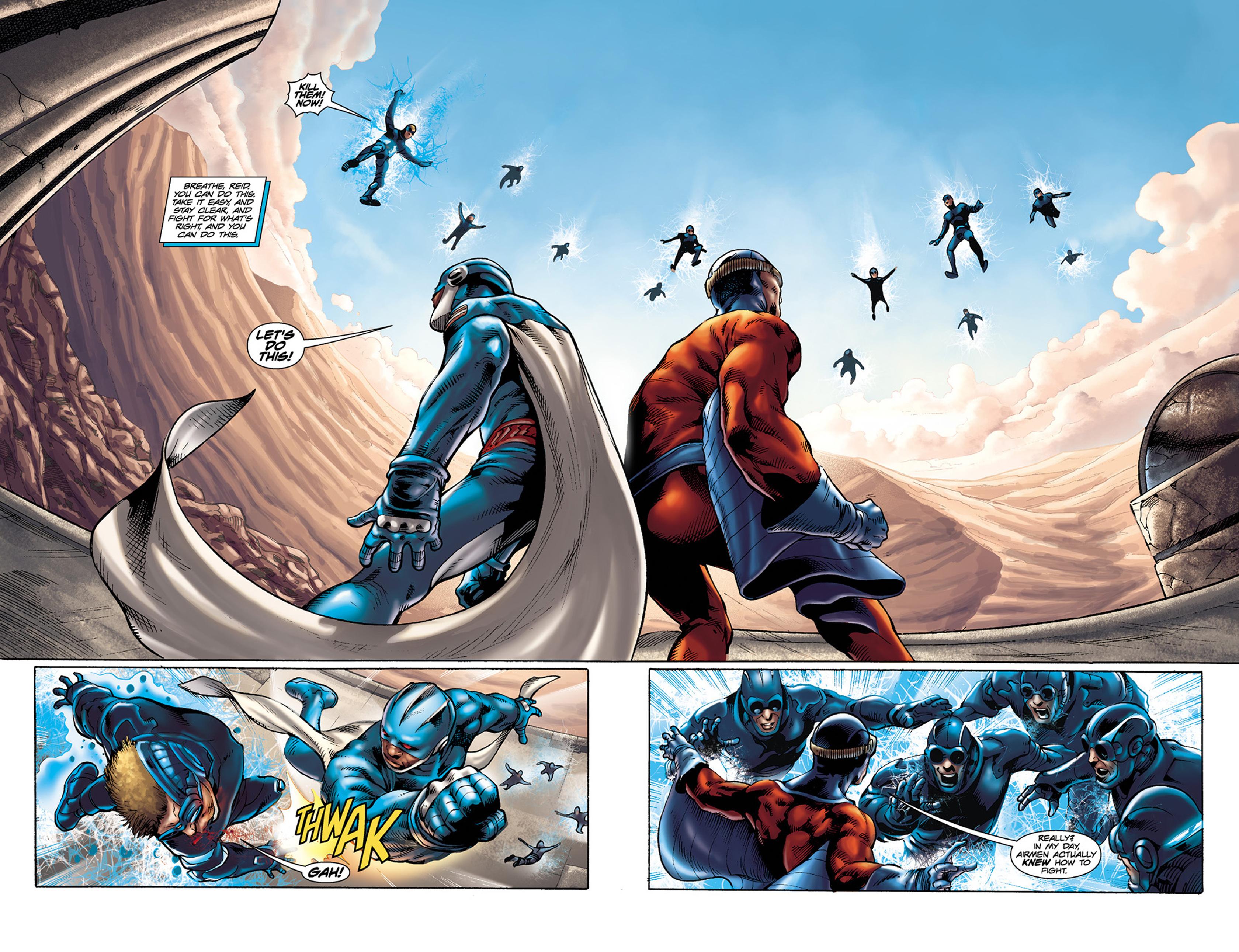 Read online Skyman comic -  Issue #4 - 4