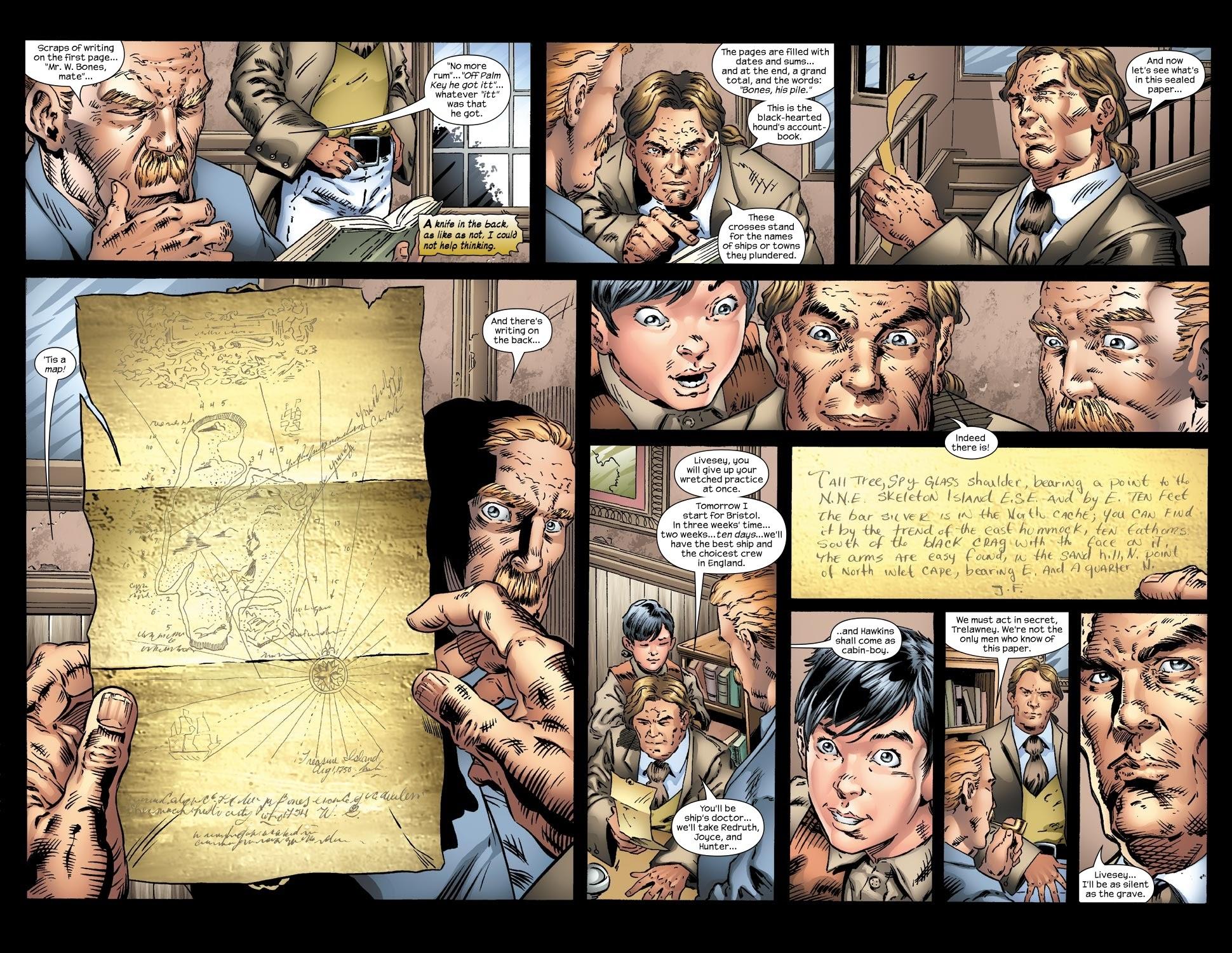 Read online Treasure Island comic -  Issue #2 - 8