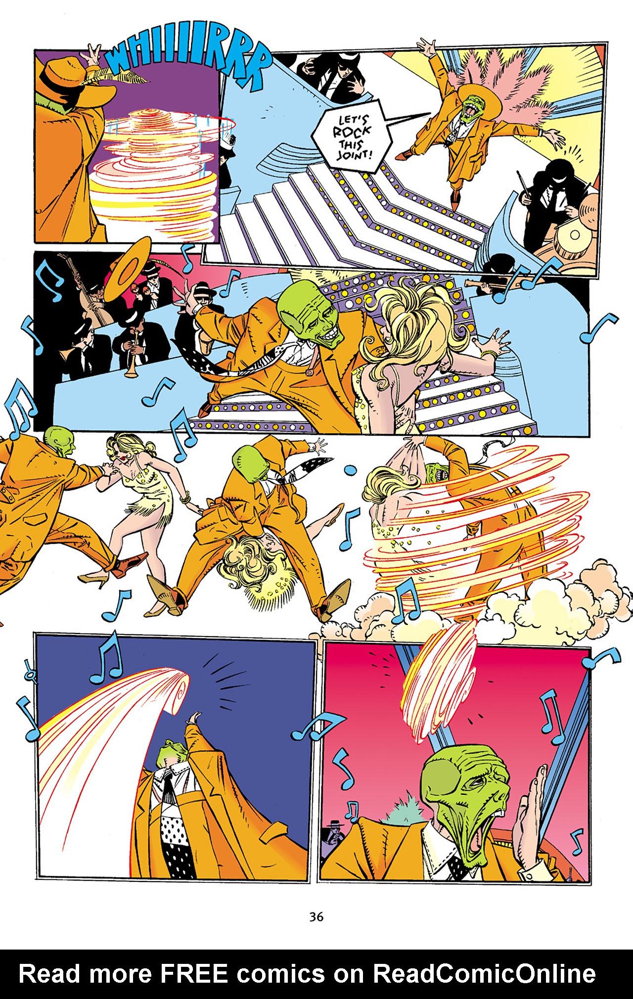 Read online Adventures Of The Mask Omnibus comic -  Issue #Adventures Of The Mask Omnibus Full - 36