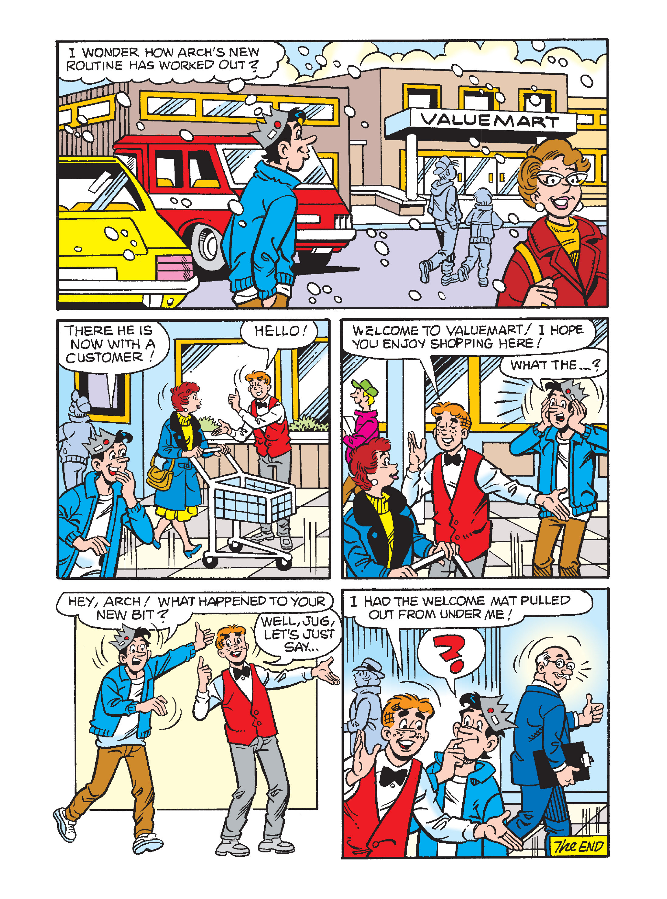 Read online Archie's Funhouse Double Digest comic -  Issue #1 - 72