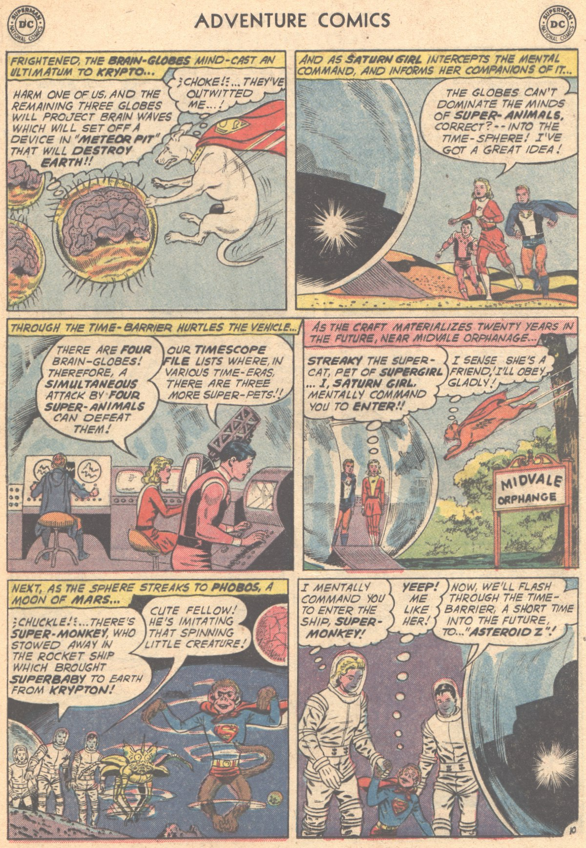 Read online Adventure Comics (1938) comic -  Issue #293 - 12