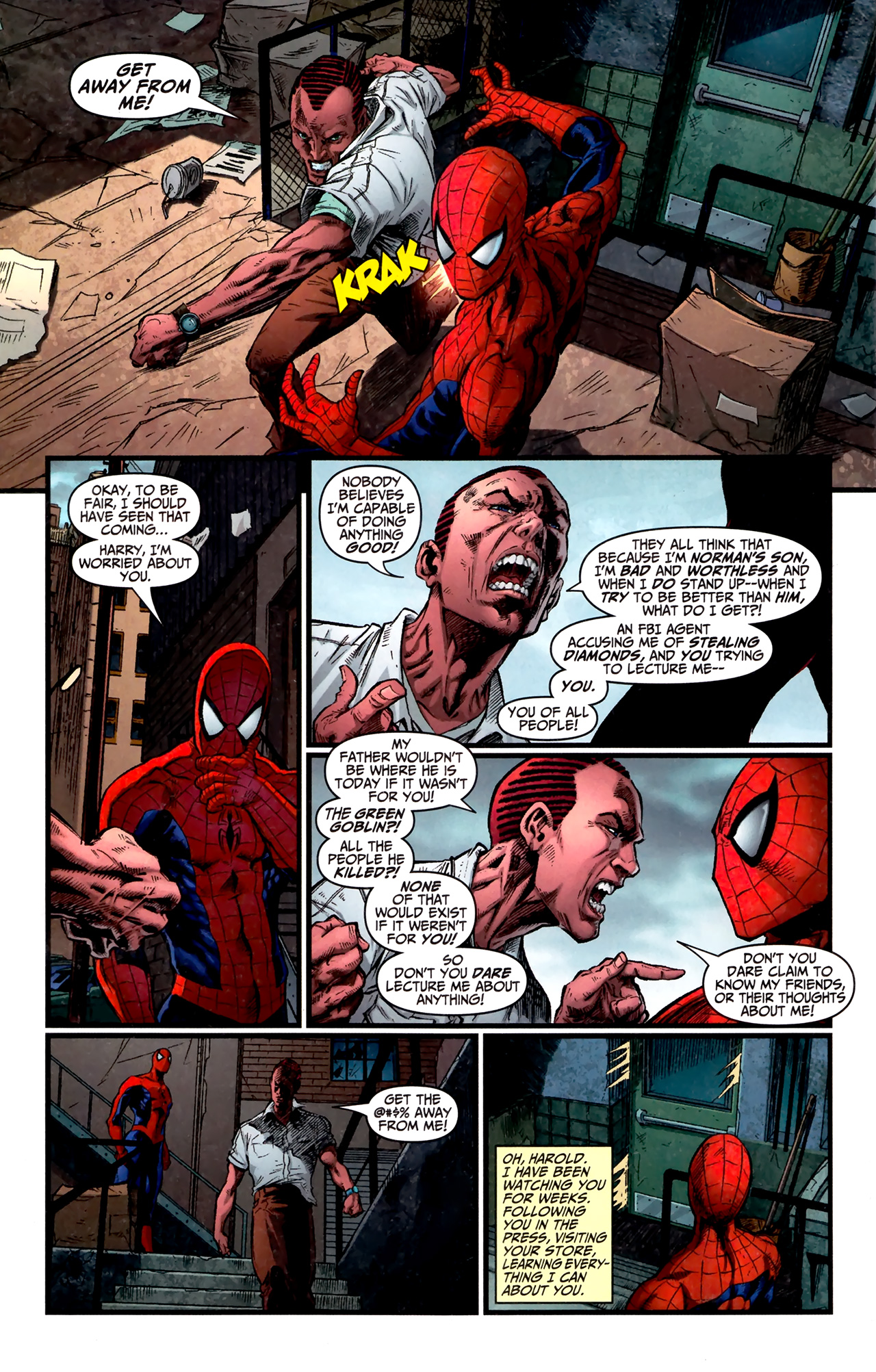 Read online Amazing Spider-Man Presents: American Son comic -  Issue #1 - 22