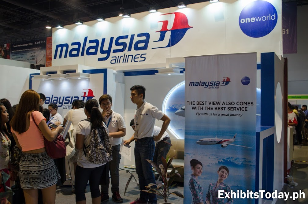 Malaysia Airlines Exhibit Booth