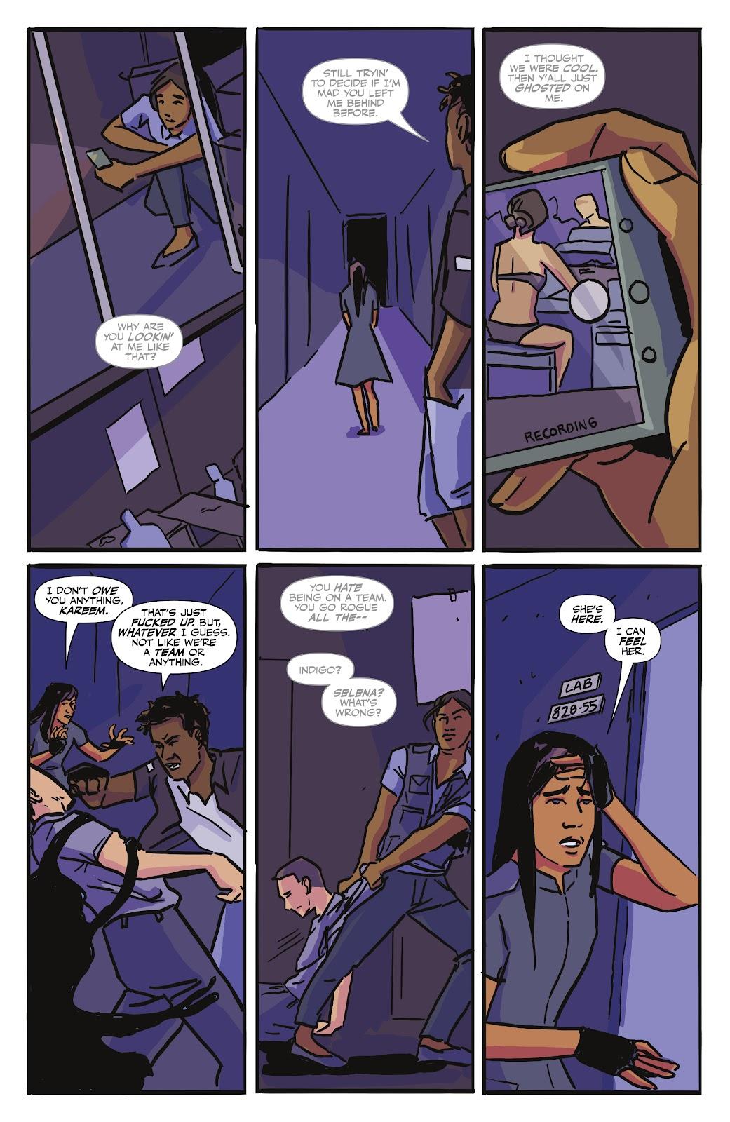 Read online Black (AF): Devil's Dye comic -  Issue #3 - 22