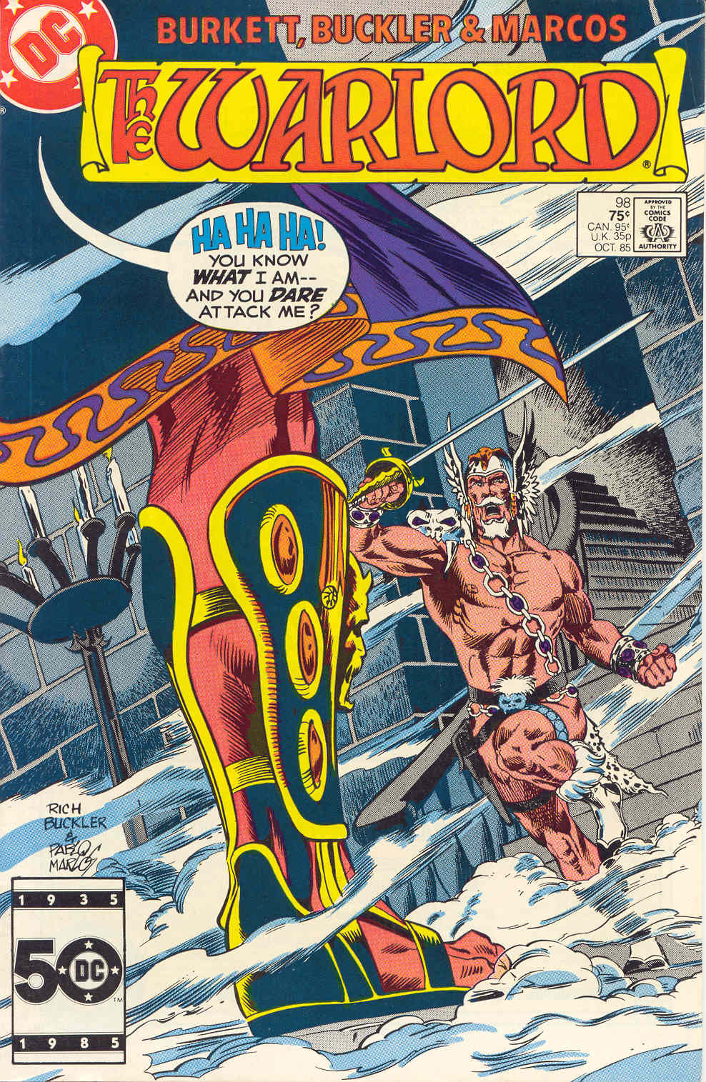 Warlord (1976) issue 98 - Page 1