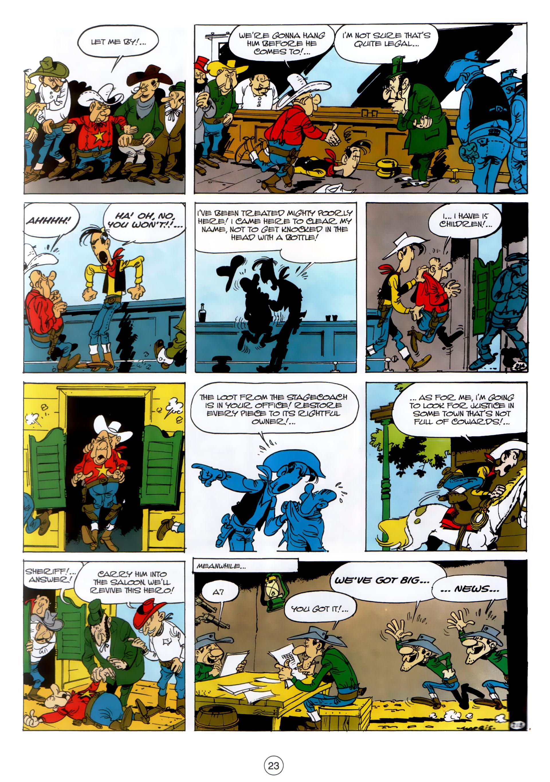 Read online A Lucky Luke Adventure comic -  Issue #30 - 22