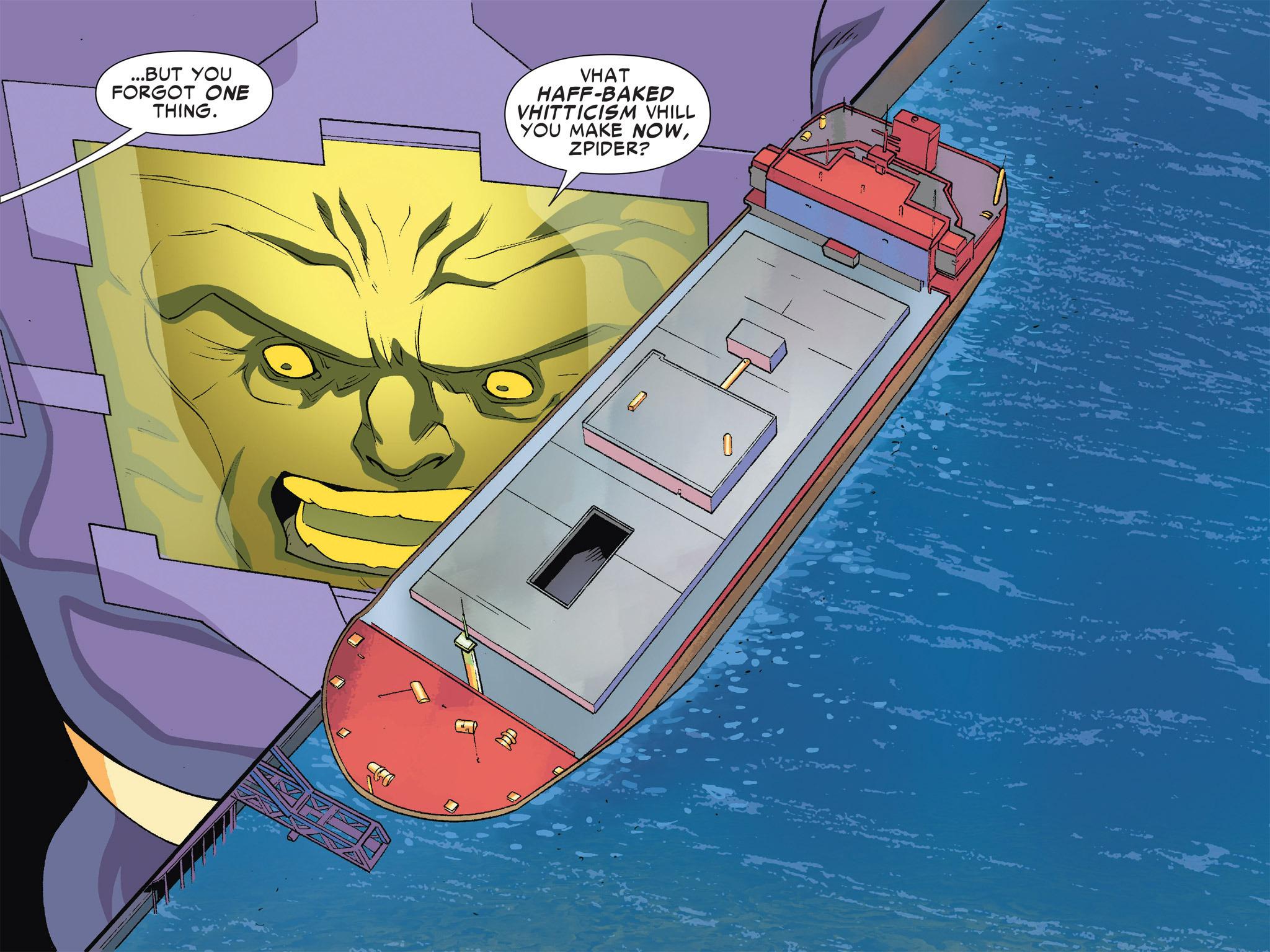 Read online Ultimate Spider-Man (Infinite Comics) (2016) comic -  Issue #5 - 33