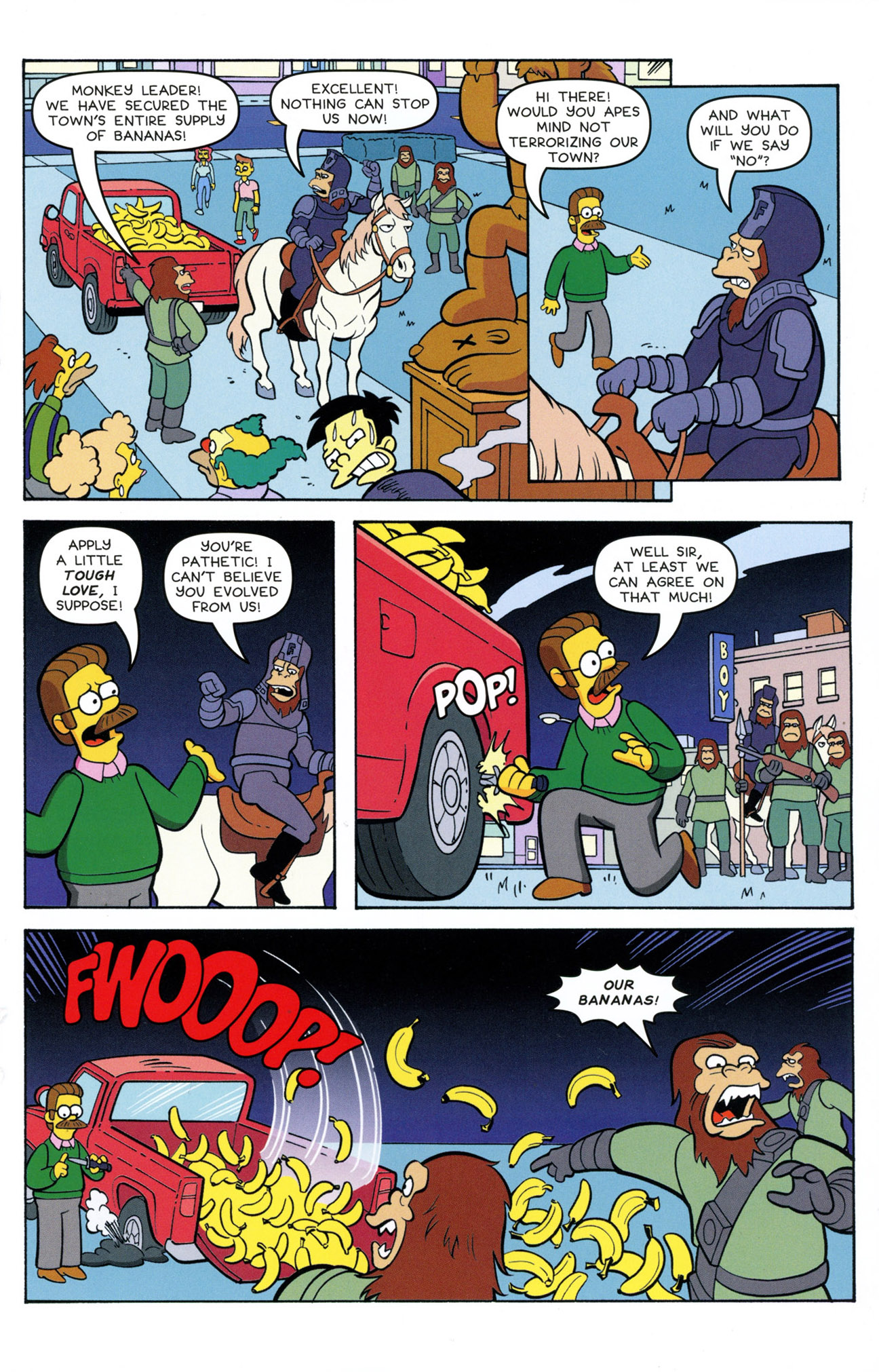 Read online Treehouse of Horror comic -  Issue #21 - 25