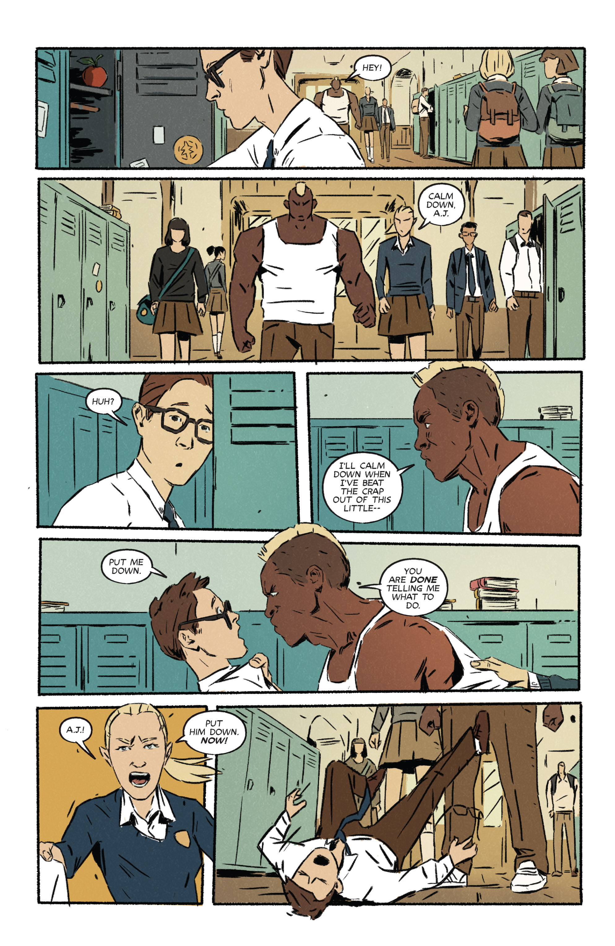 Read online Night Owl Society comic -  Issue #2 - 22