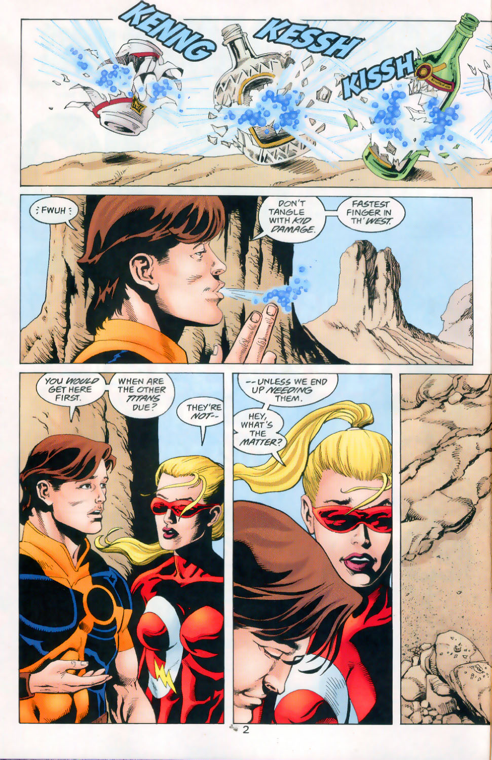 Read online The Titans (1999) comic -  Issue #45 - 3