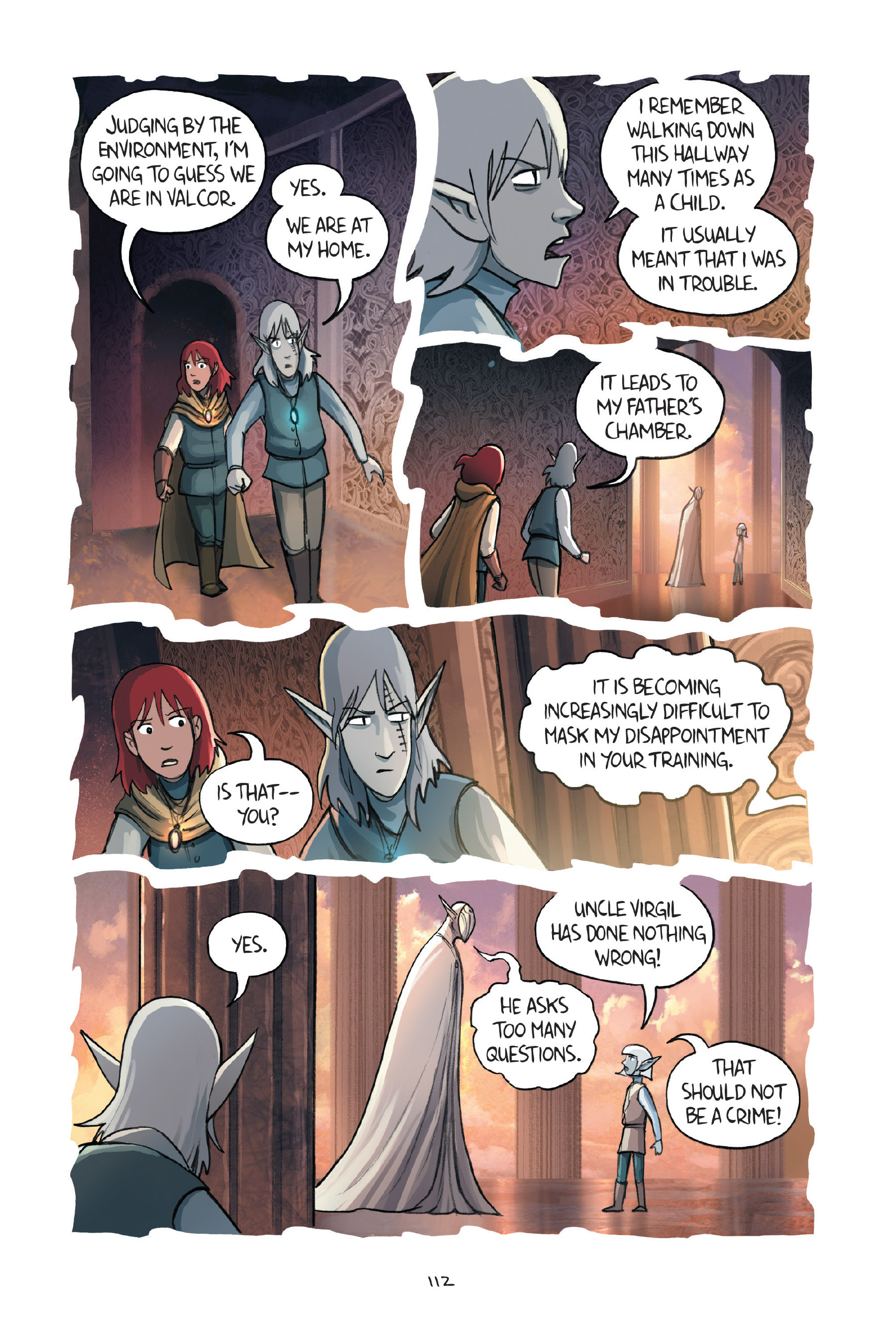 Read online Amulet comic -  Issue #7 - 112